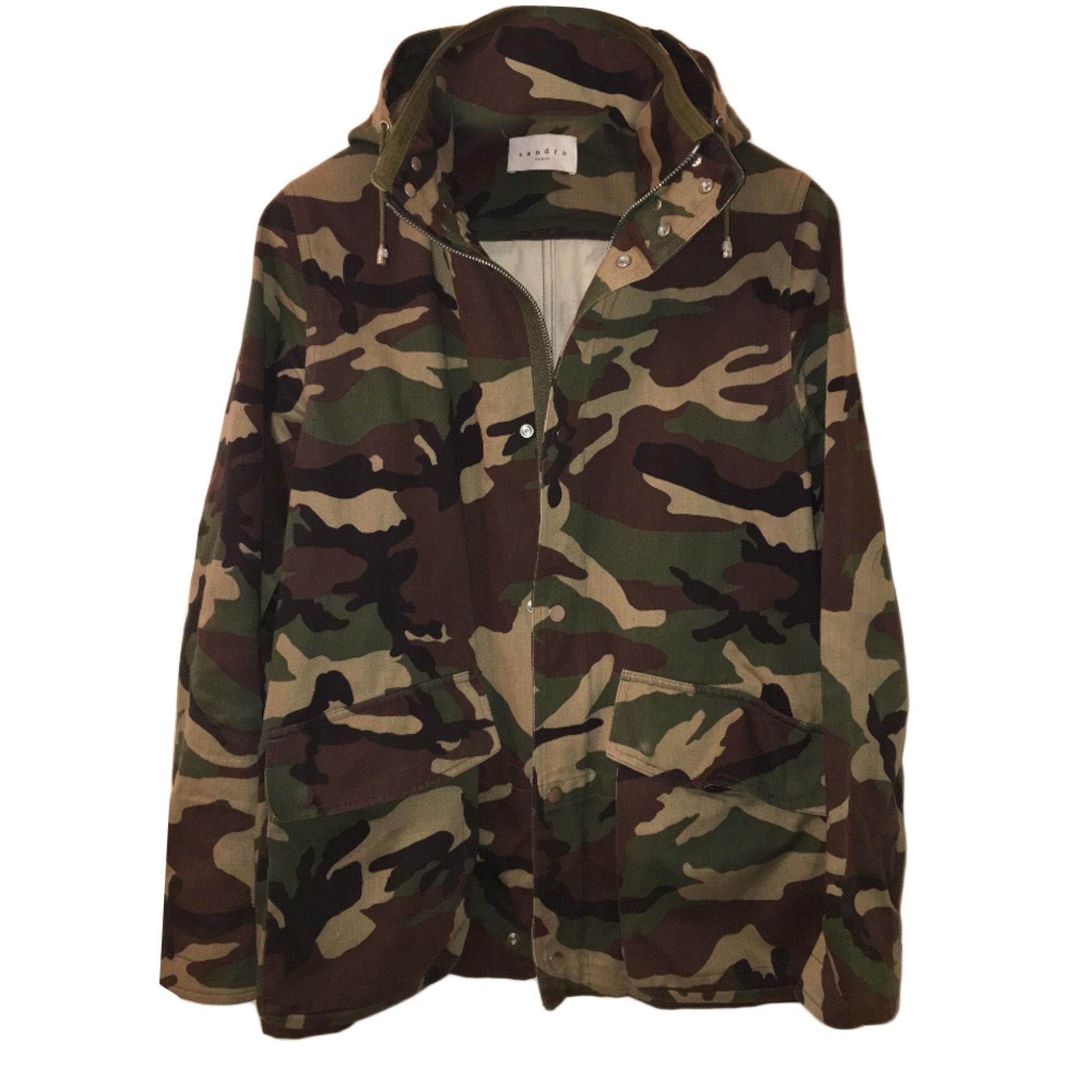 Manteau SANDRO Autre camouflage - 5661157 767753d5a94