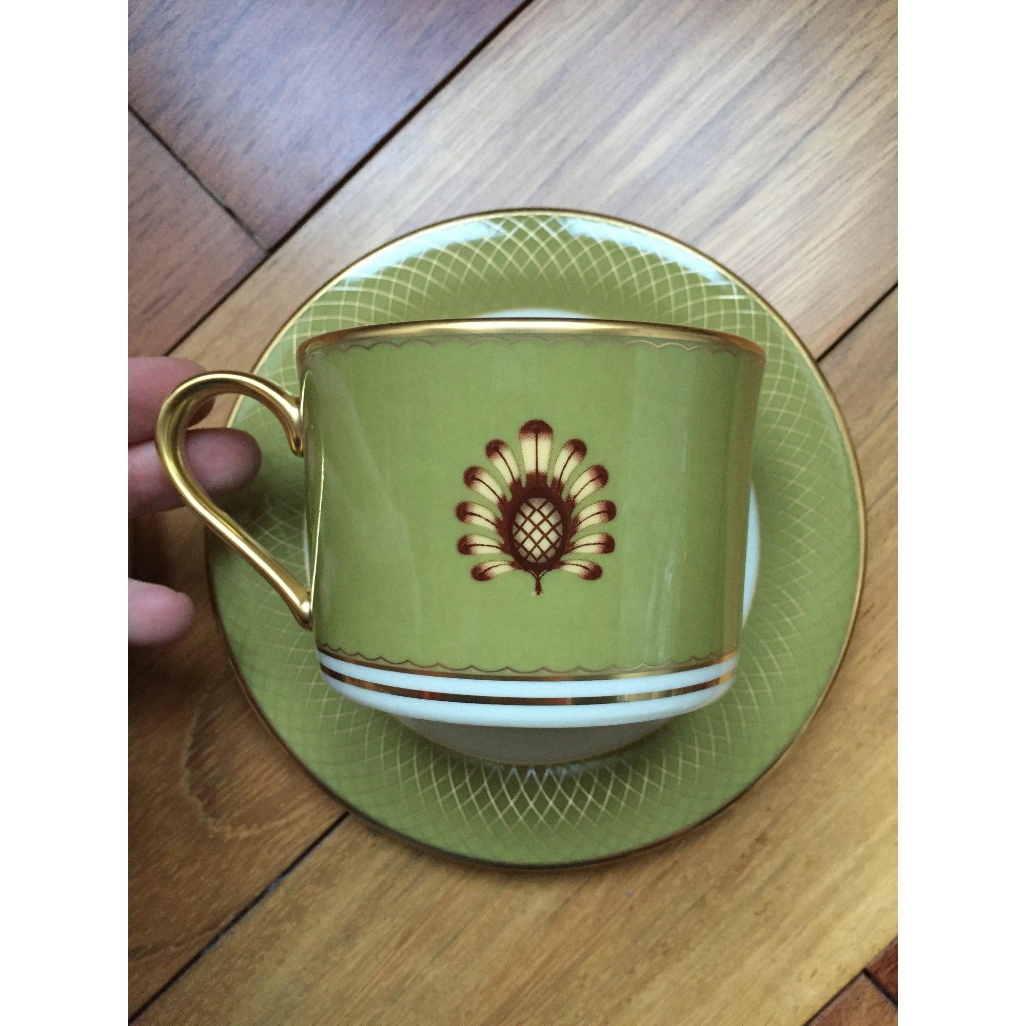Bijou de téléphone LENOX porcelaine vert