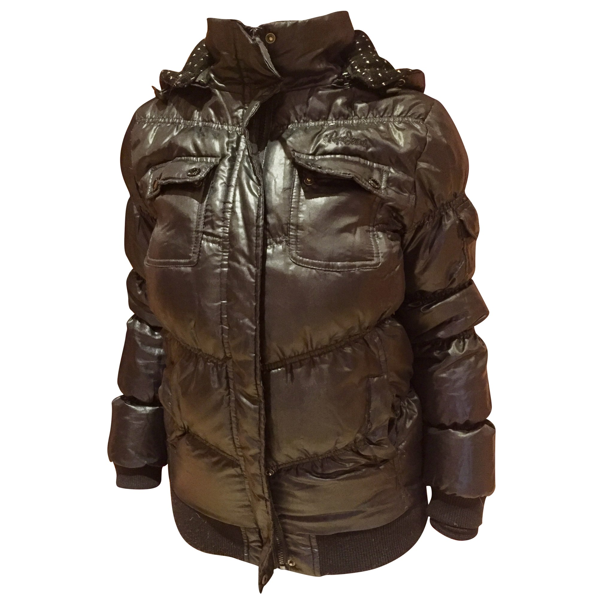 Down Jacket PEPE JEANS Black