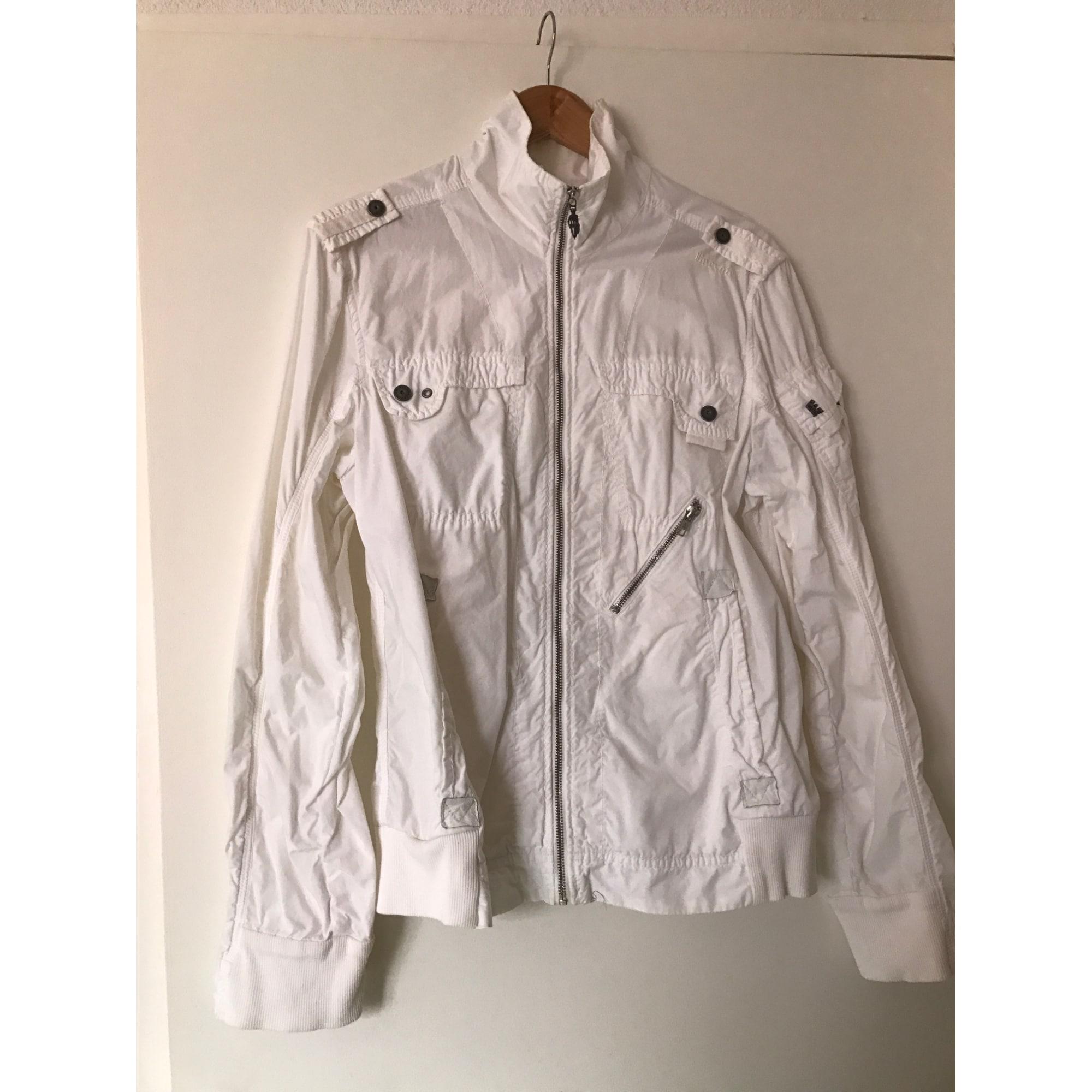 Veste ENERGIE Blanc, blanc cassé, écru