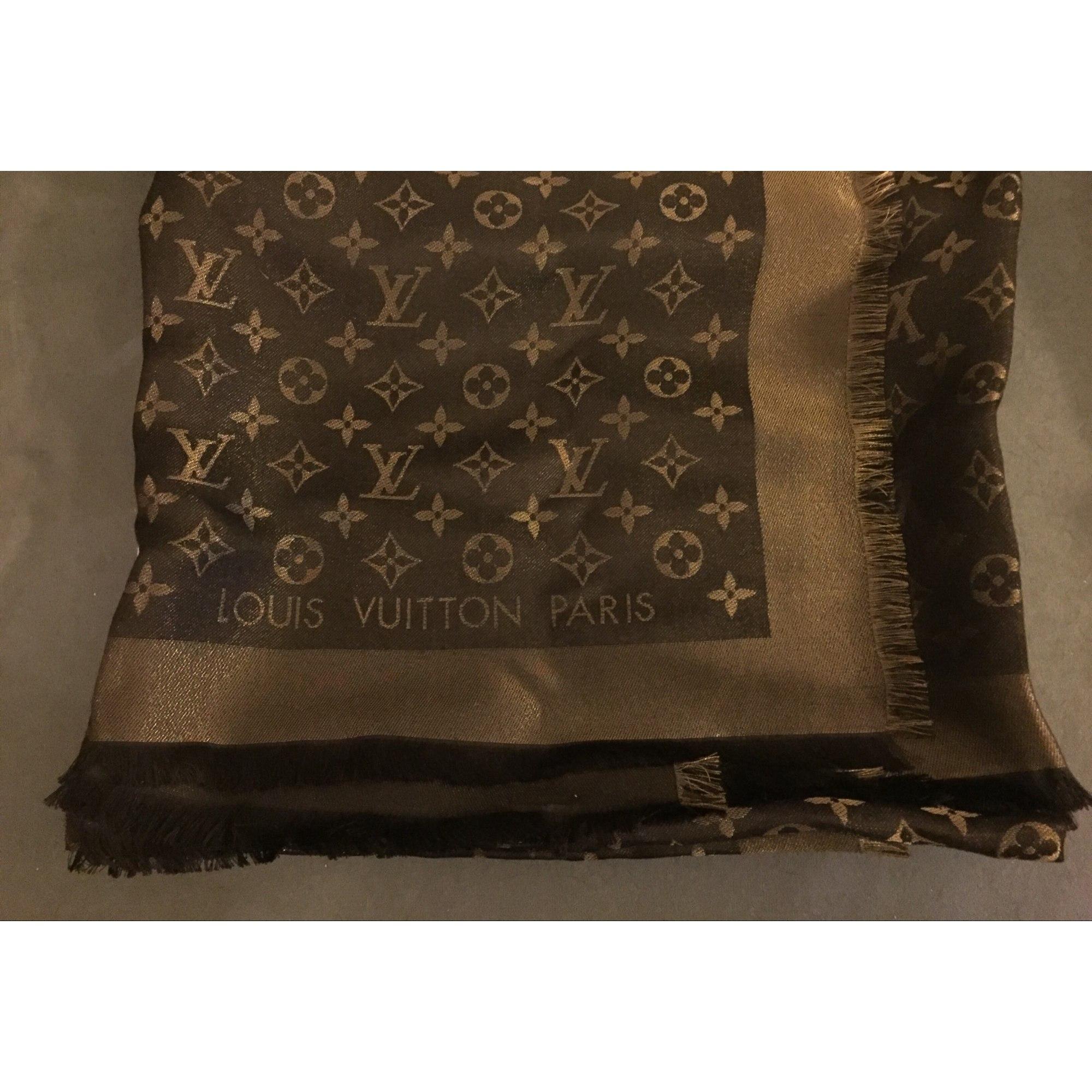 Châle LOUIS VUITTON marron vendu par Cléo 17505065 - 5696584 6ebf3d3510c
