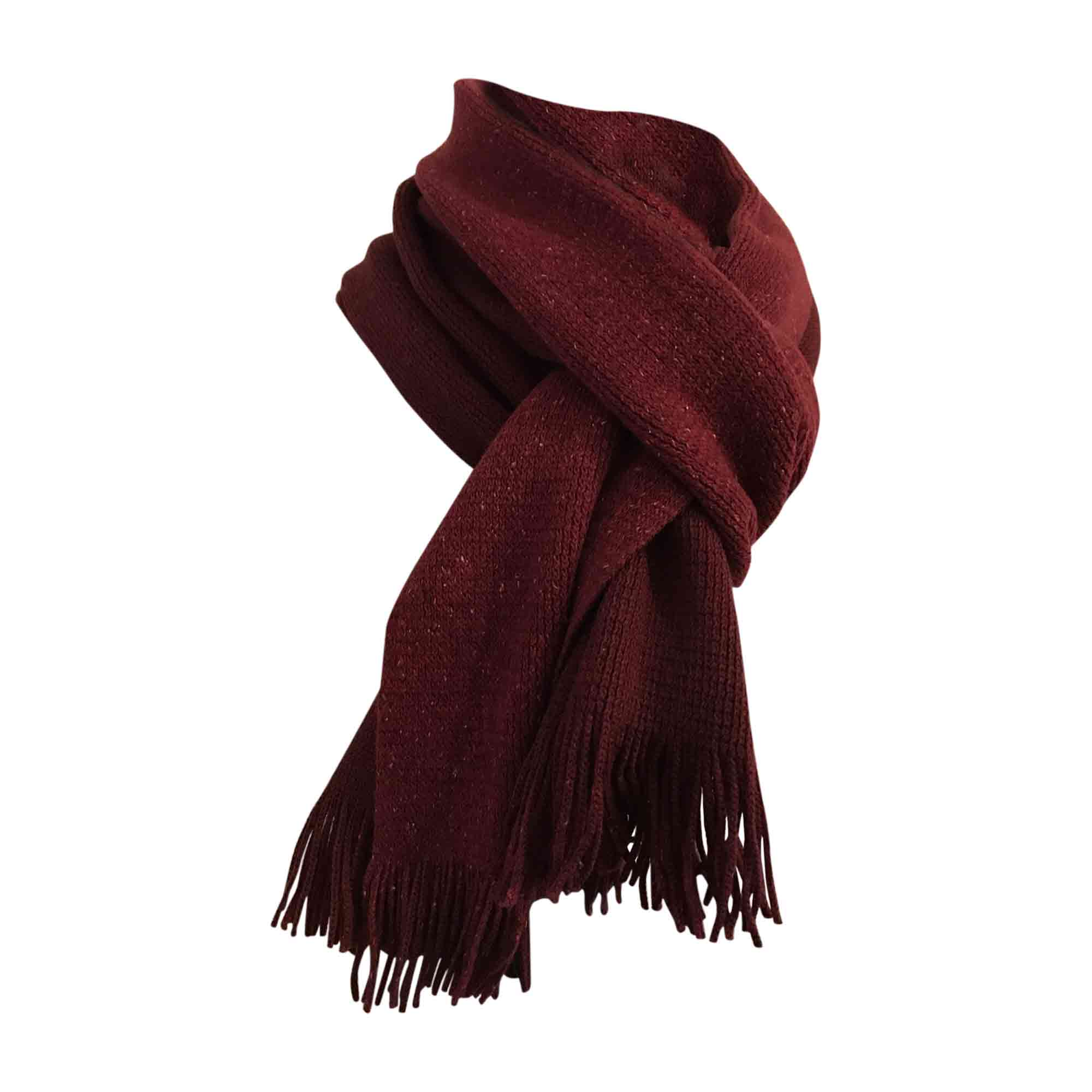 e3d384619a4b Echarpe HUGO BOSS rouge vendu par Dress-code 75 - 5718062