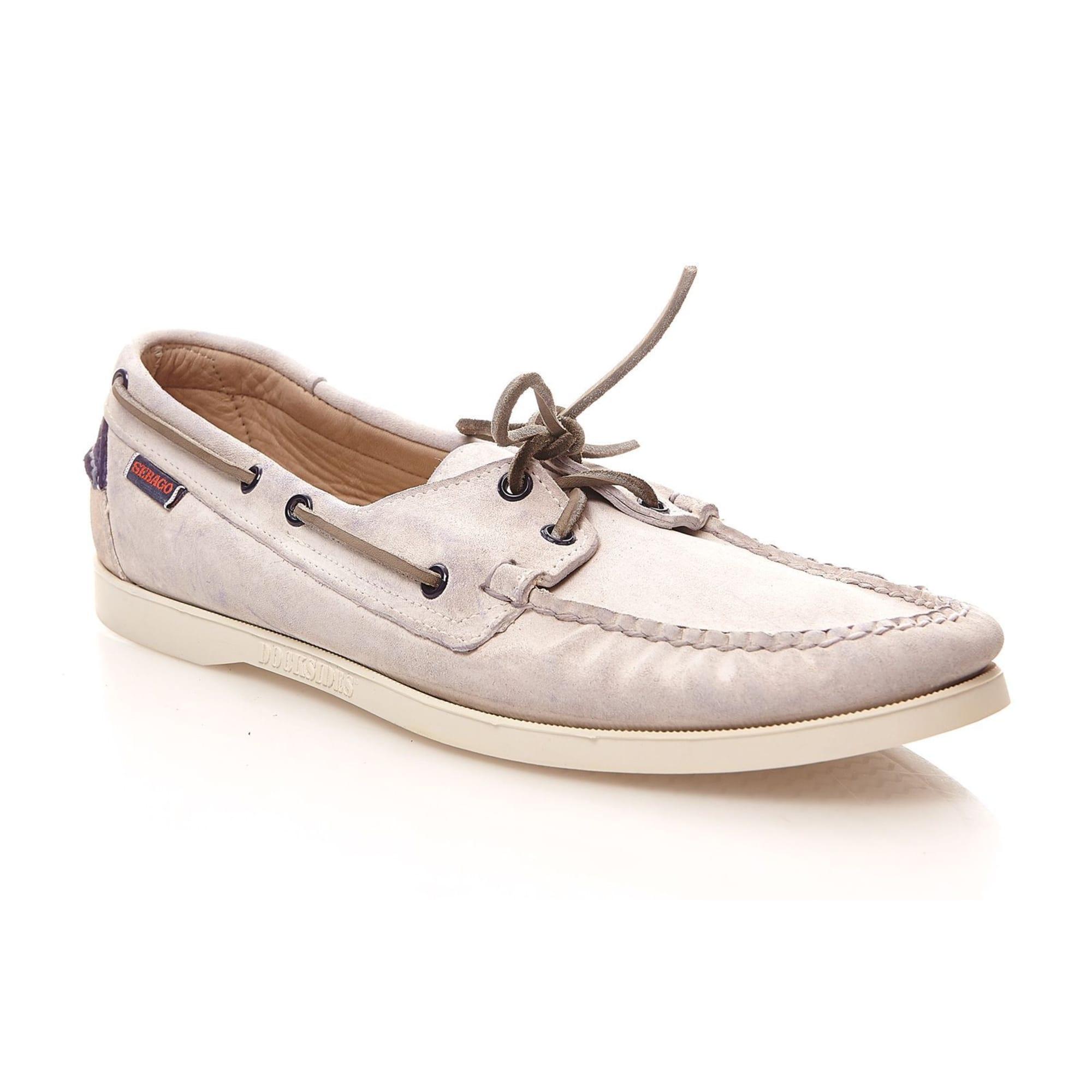 5721038 Blanc À 46 Sebago Chaussures Lacets q1wx8X