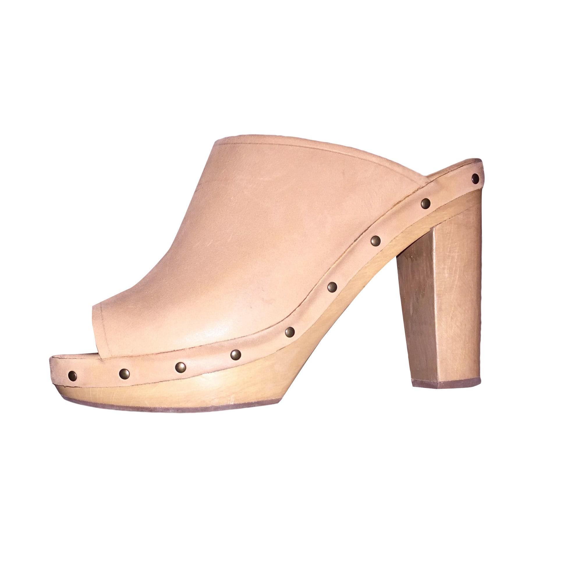 Sandales à talons GERARD DAREL Beige, camel