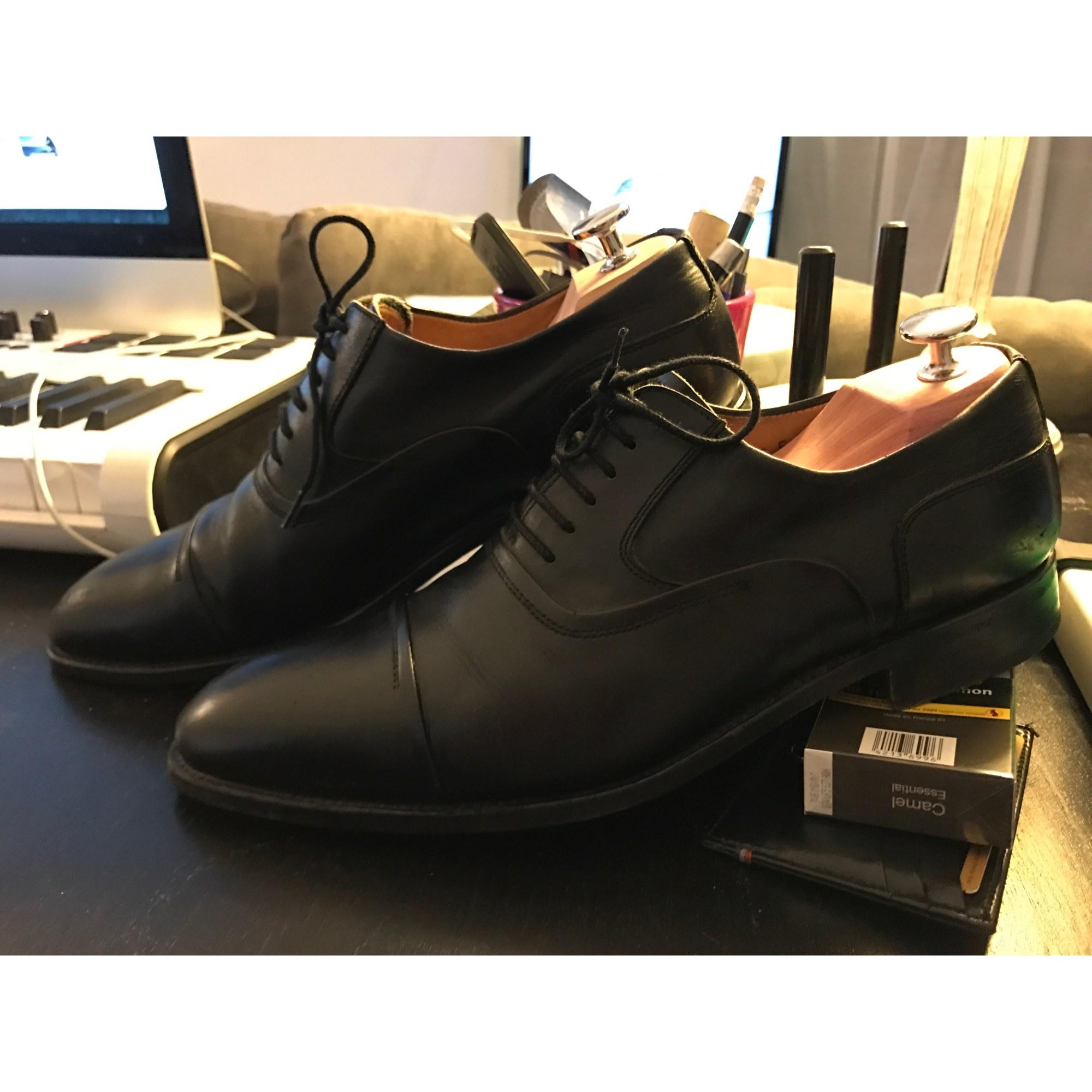 huge discount ffe2d a6940 Chaussures à lacets MACK JAMES Noir