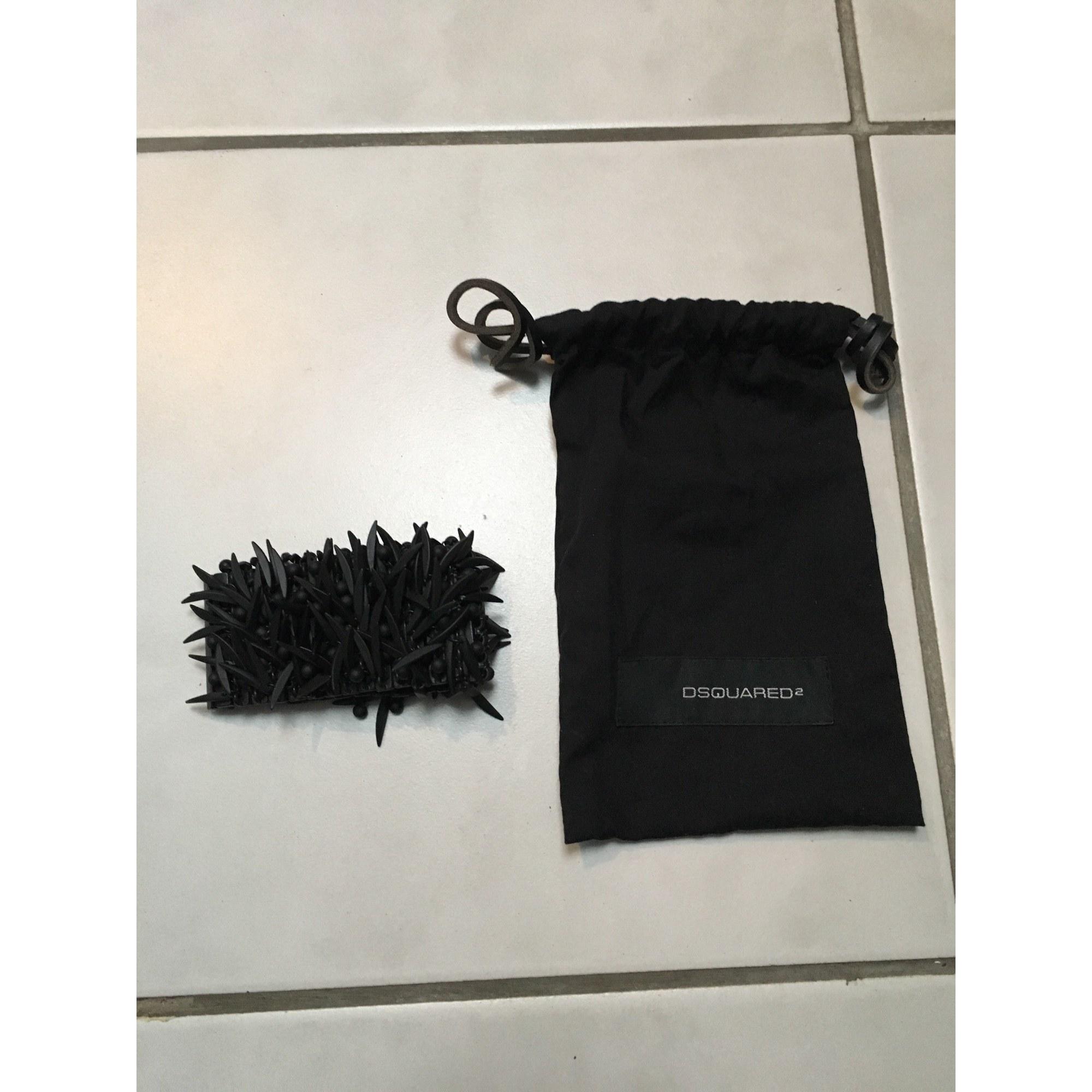 Bracelet DSQUARED2 acier noir