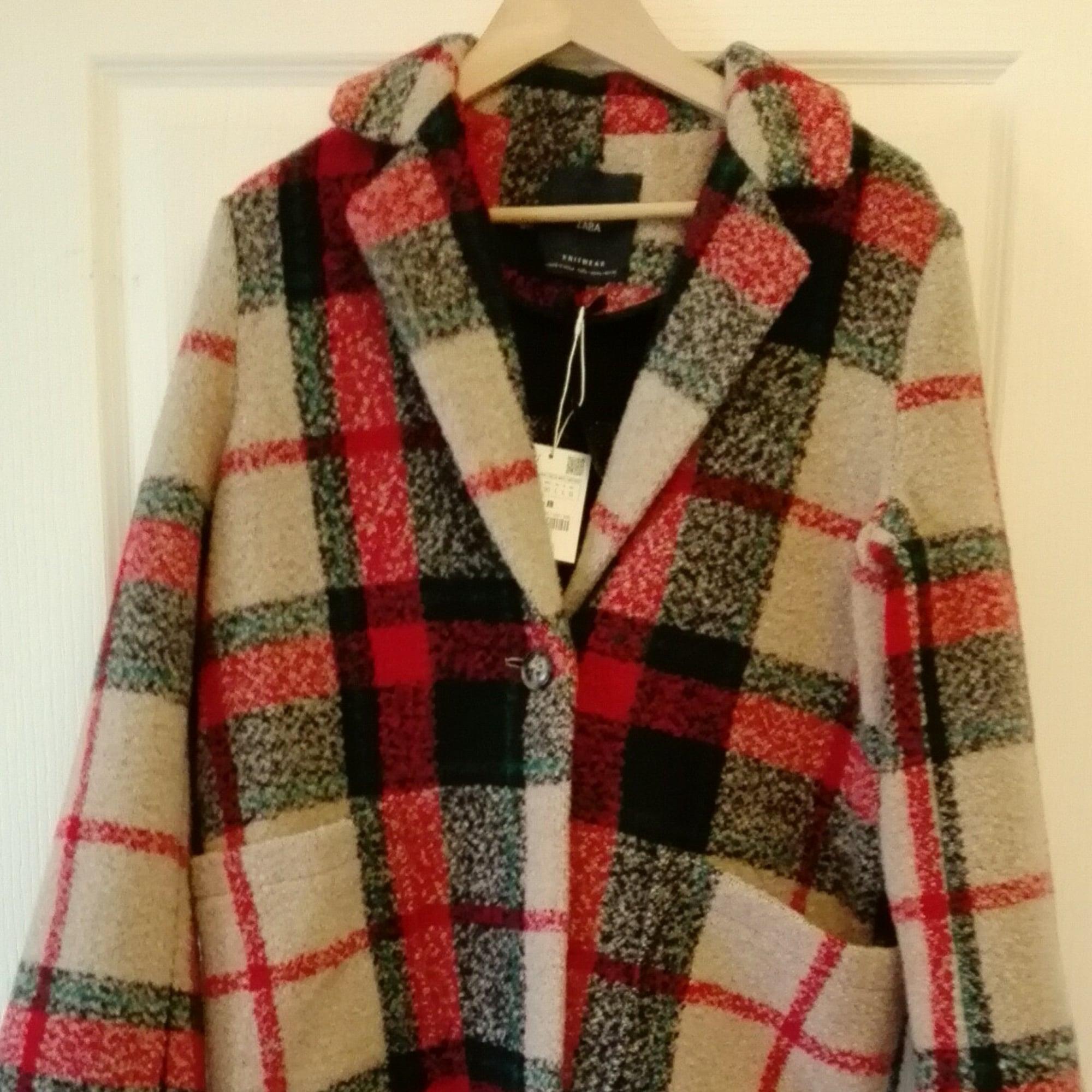manteau ecossais zara