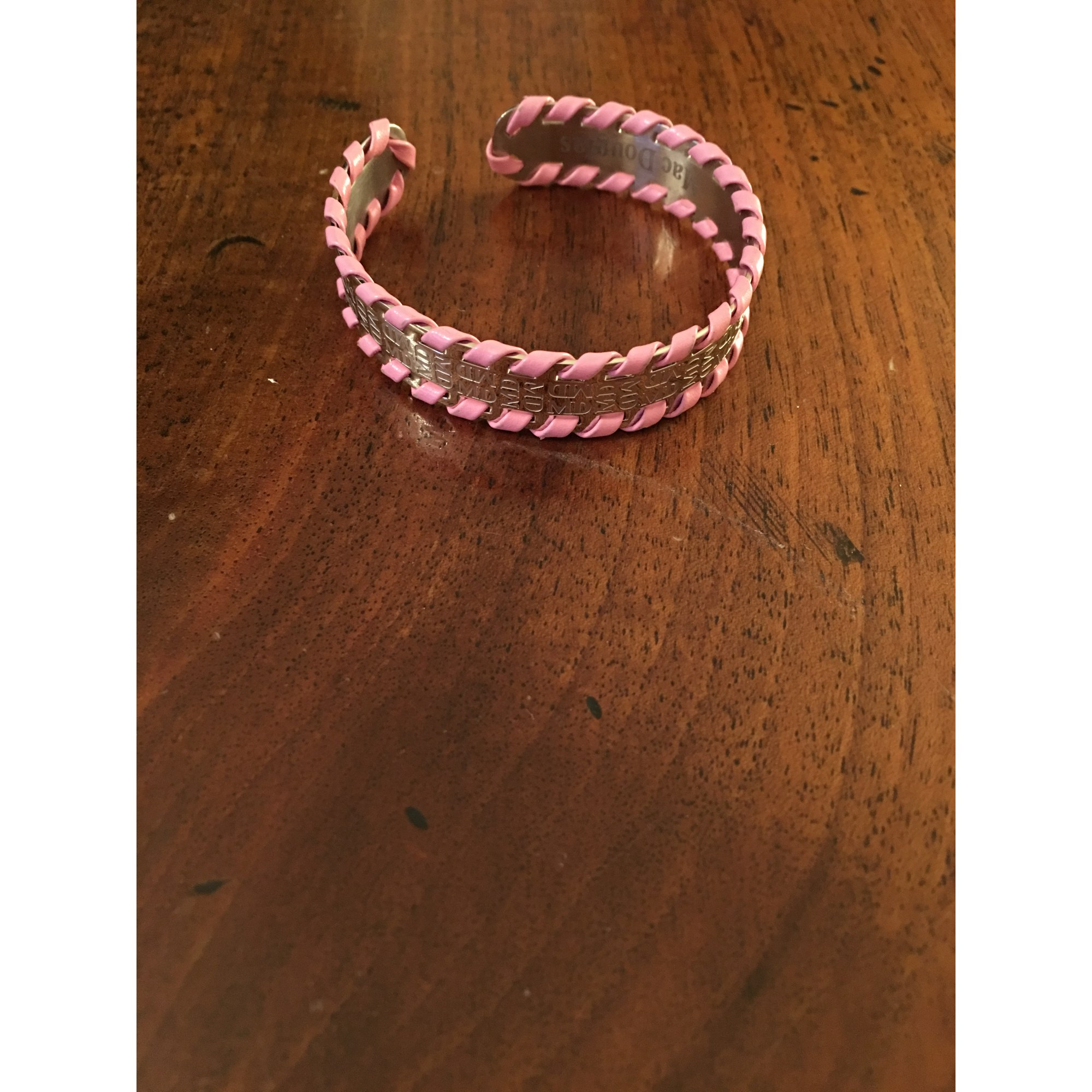 Bracelet MAC DOUGLAS cuir rose