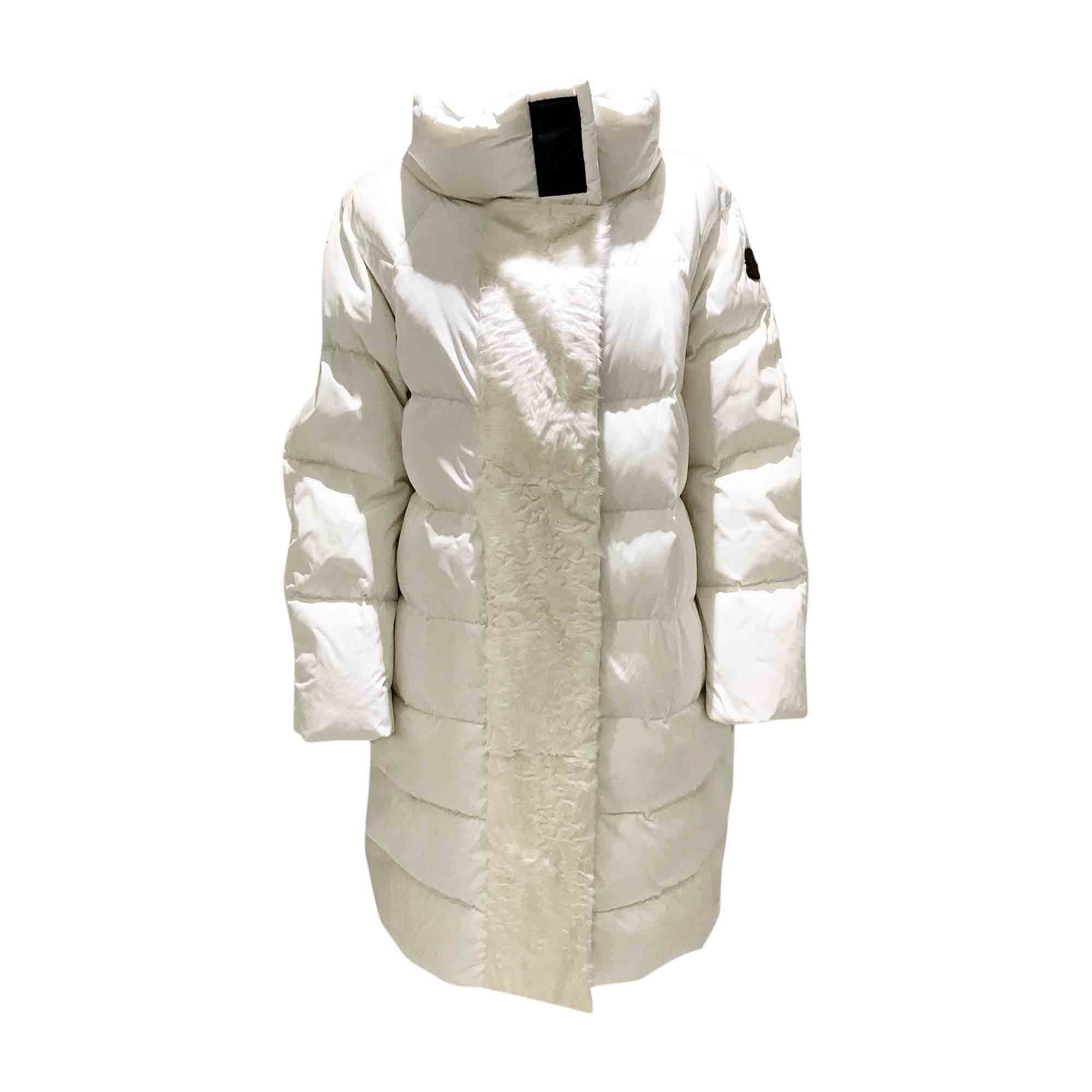 195f906eb210 Doudoune MONCLER 40 (L, T3) blanc - 5775763