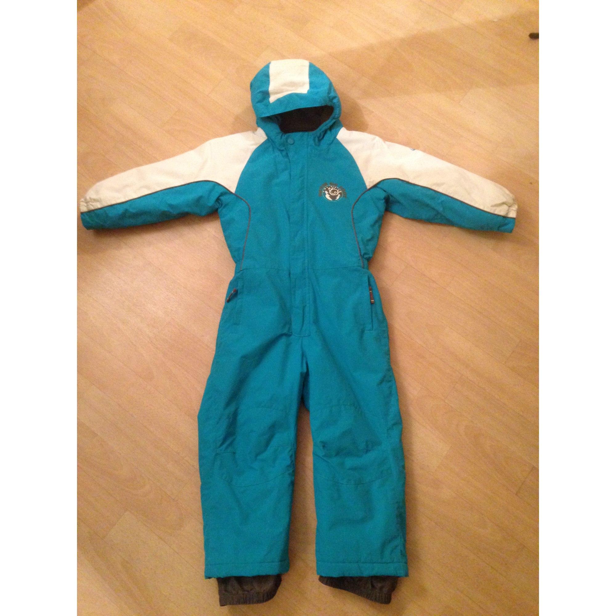 c8e7fcdaf53fb Combinaison de ski GO SPORT 5-6 ans bleu vendu par Stephanie ...