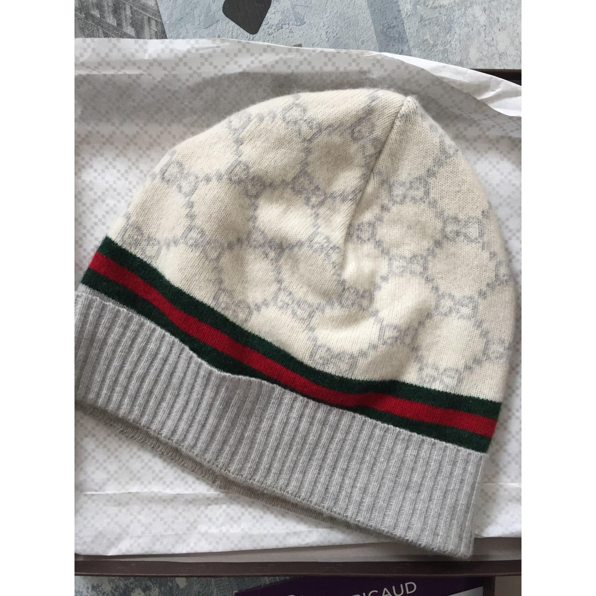 Bonnet GUCCI Taille unique blanc vendu par D yohann107008 - 5797470 e864fe4fd7f