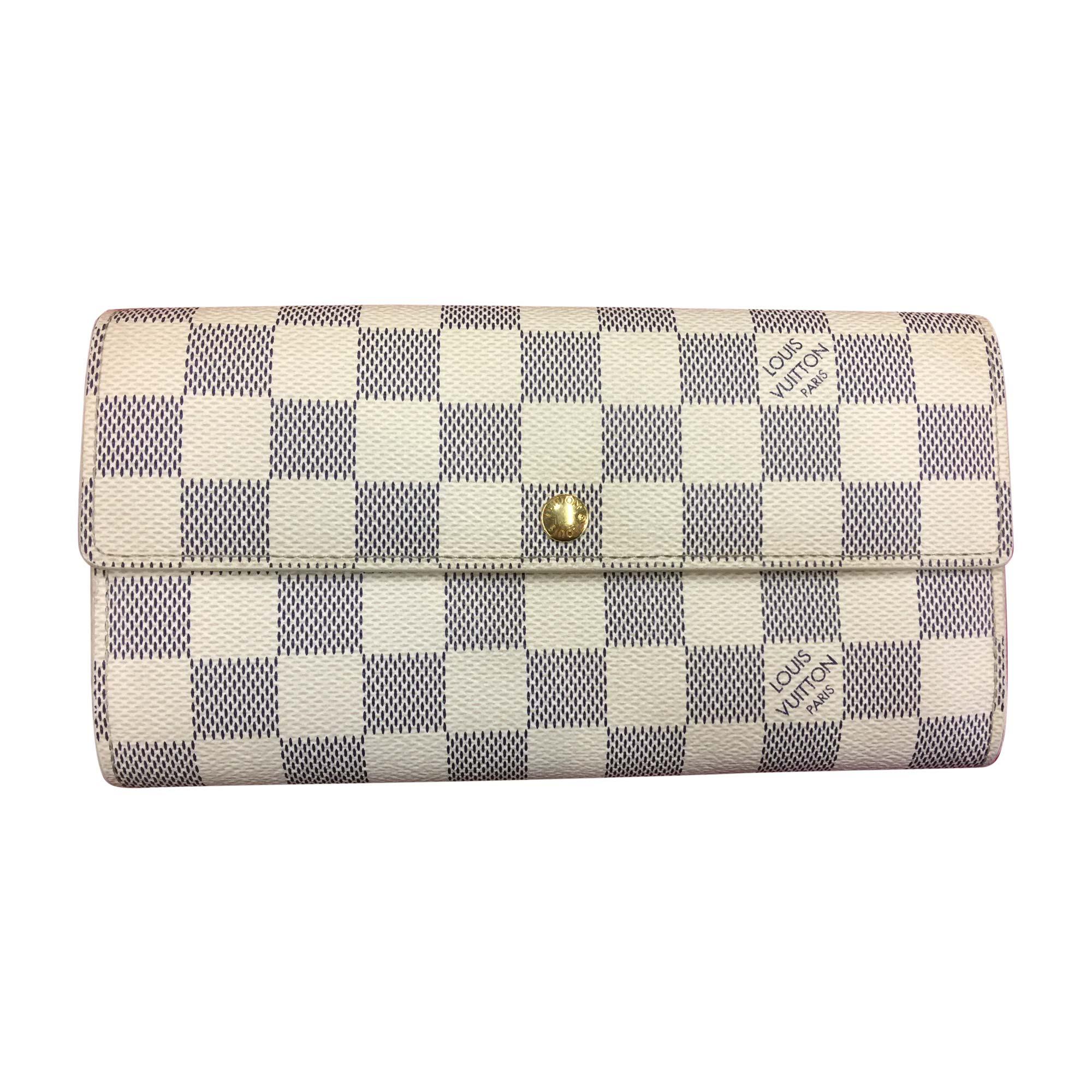 ee04c6cd717d Portefeuille LOUIS VUITTON blanc vendu par Easycash niort - 5803582