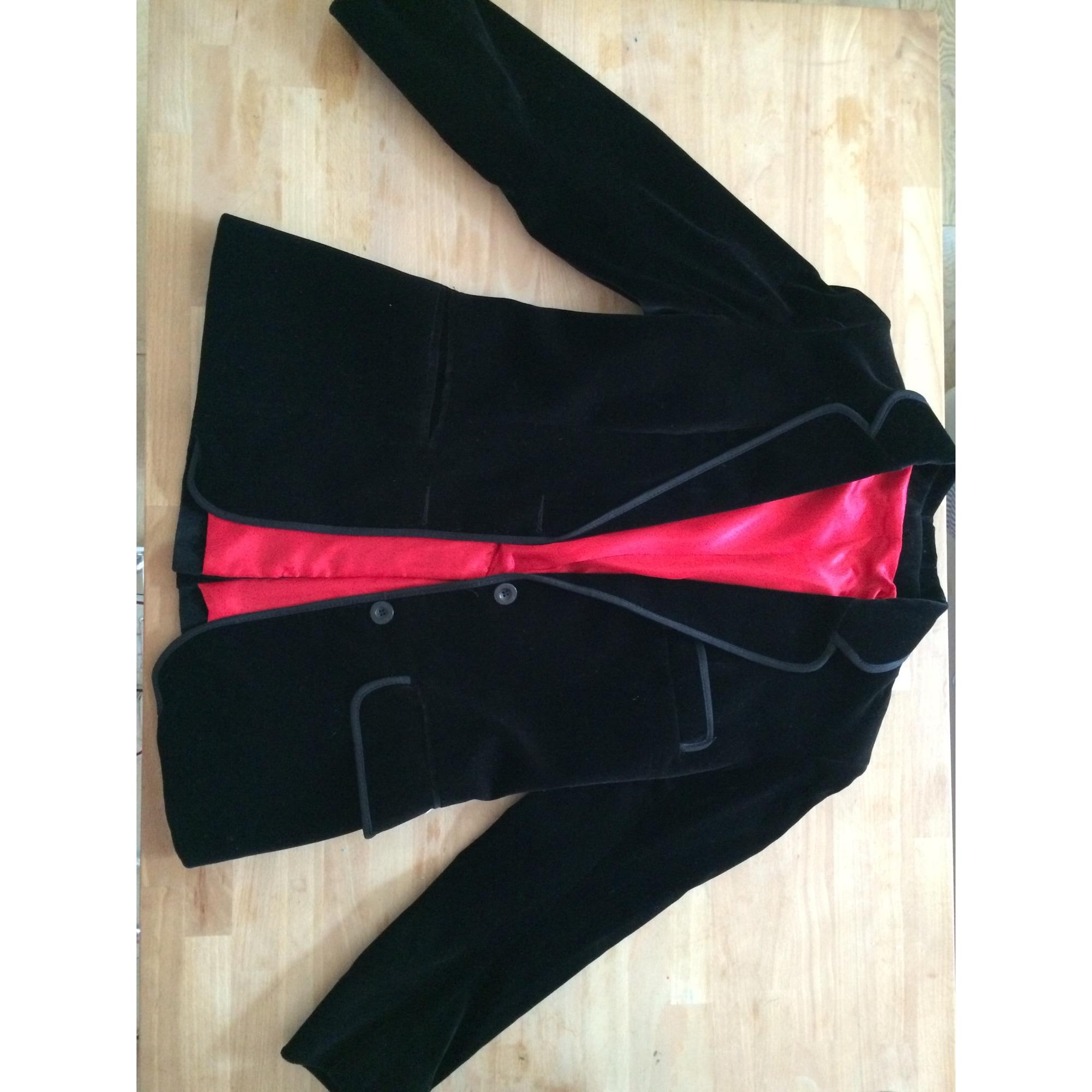 Blazer, veste tailleur LES INDIENNES DE NÎMES 36 (S, T1) noir vendu ... 0fe9a47d7cd