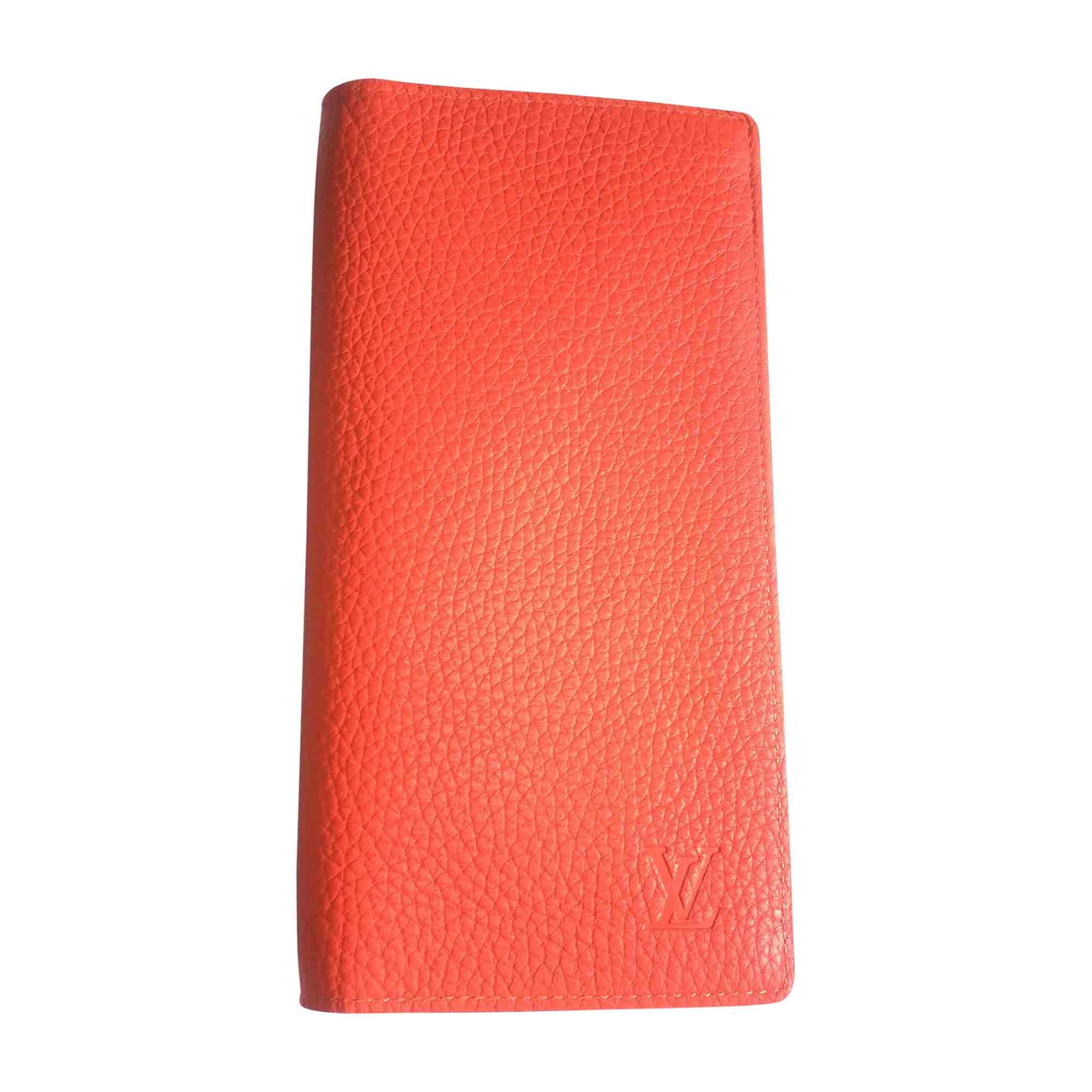 Portefeuille LOUIS VUITTON orange vendu par Maomao 8520406 - 5828865 35c10fbe2c2