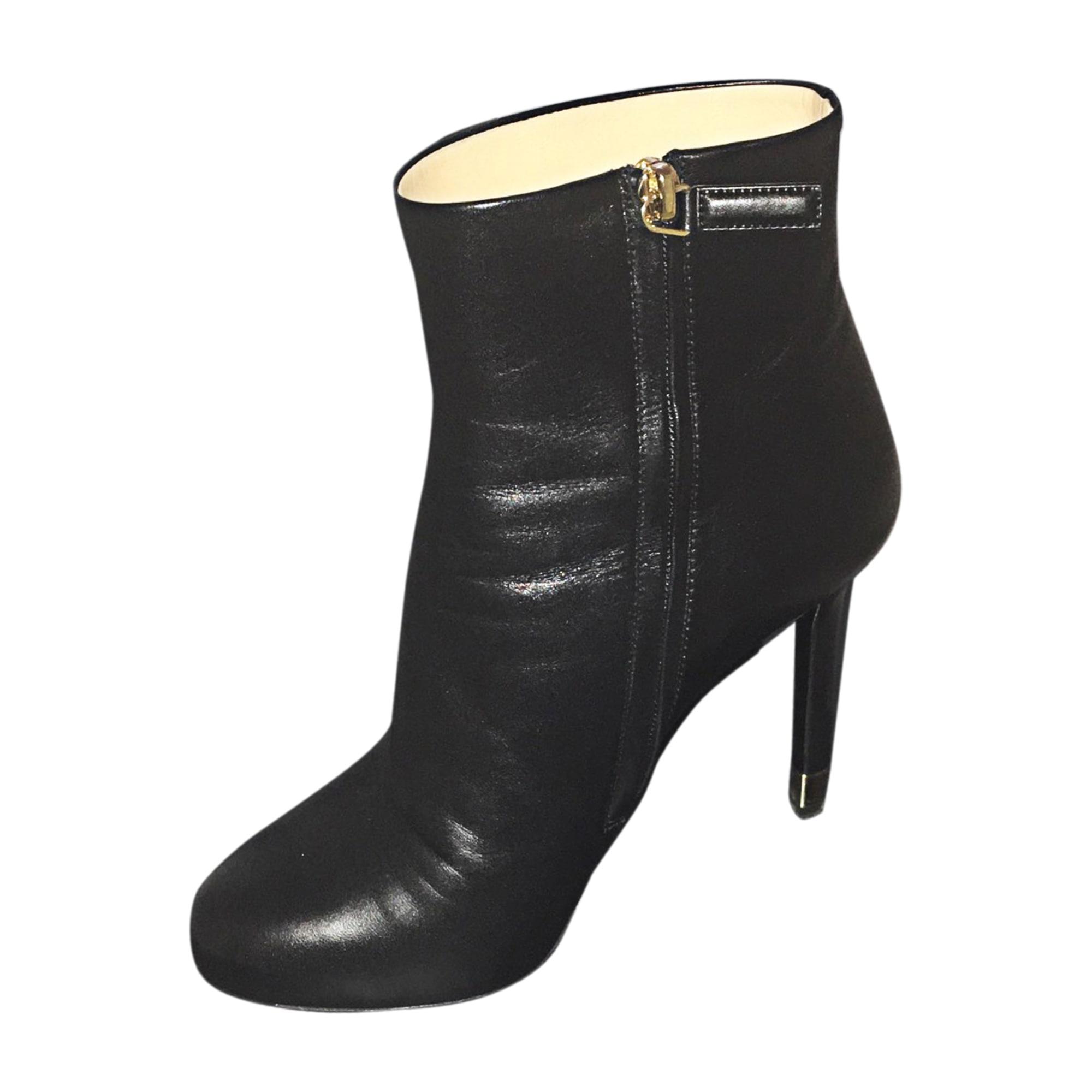Bottines   low boots à talons CHANEL 39 noir - 5830460 fcf0301d169