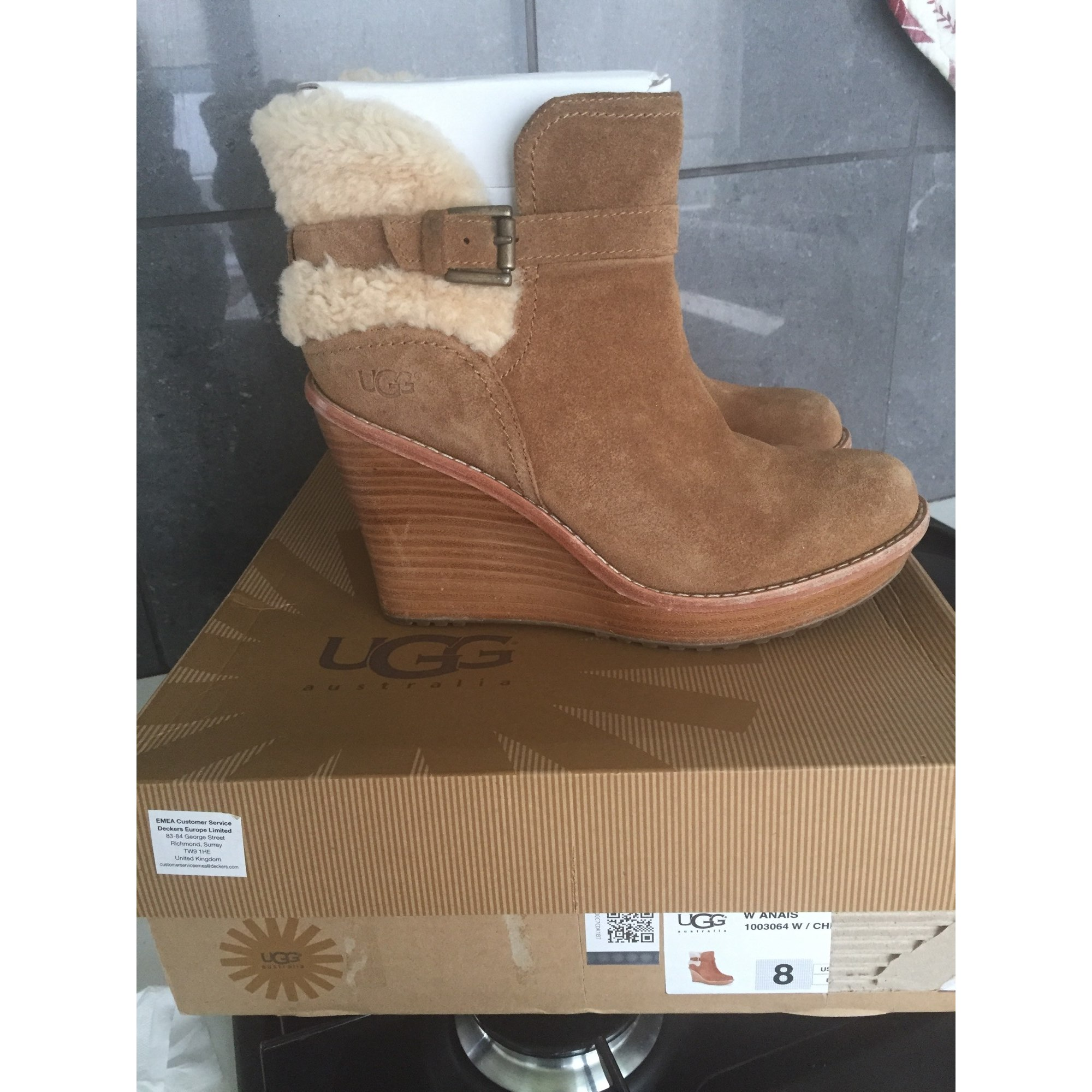 boots compensees ugg