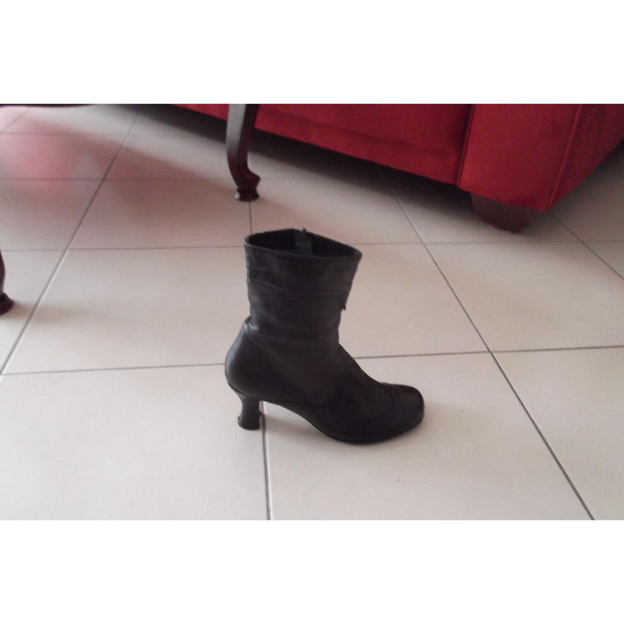f459cfabb72 Bottines   low boots à talons BRONX 38 noir - 5846866
