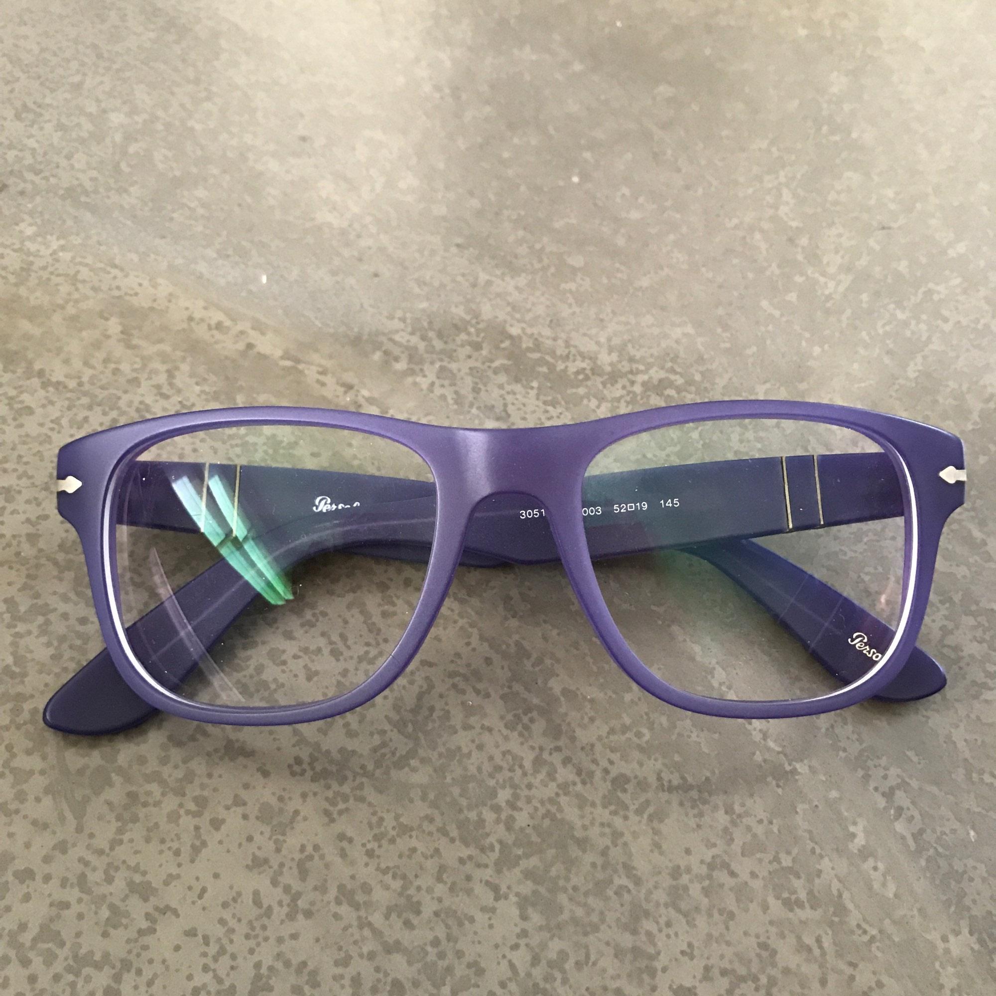 94a1865bee5b2a Monture de lunettes PERSOL Violet, mauve, lavande
