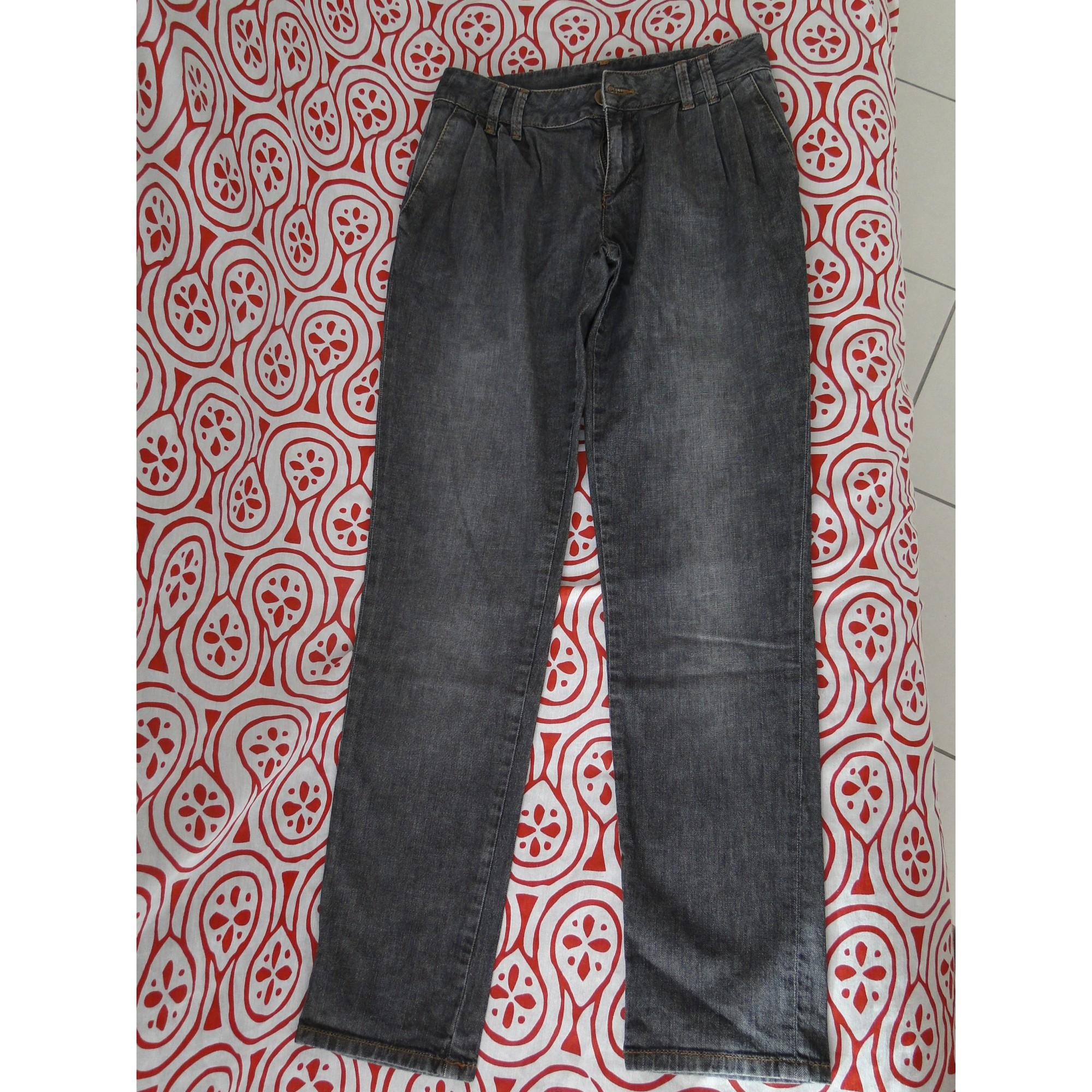 33b4af8bdf459 Jeans large, boyfriend NAF NAF W25 (T 34) gris - 5852180