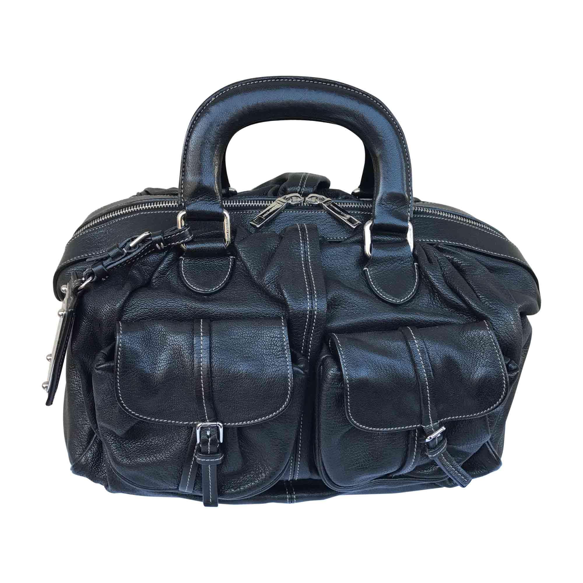 Cuir Dolce Noir En 5854054 Sac amp; Main Gabbana À wqInRtx1