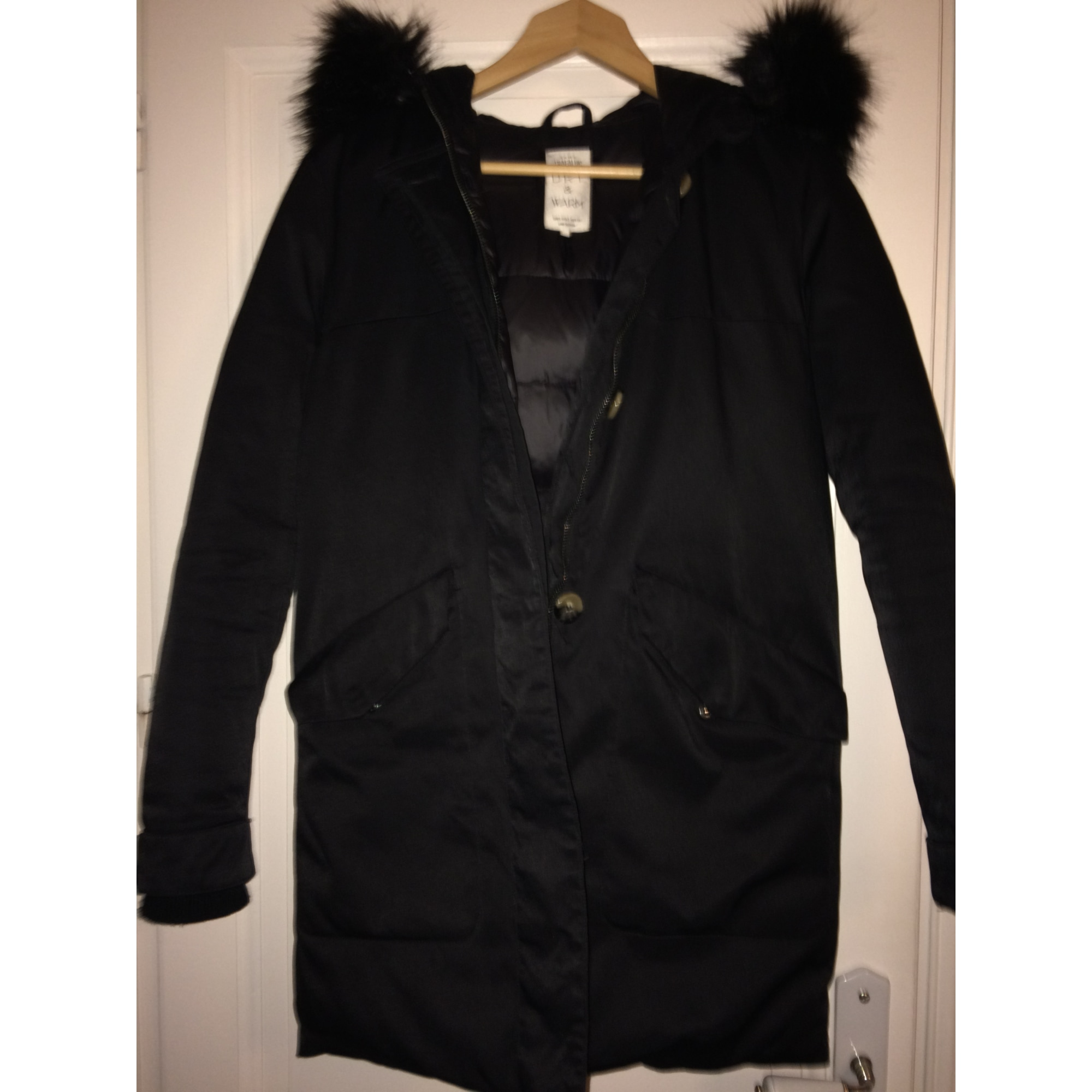 various colors 37e9b bd014 Parka ZARA Black