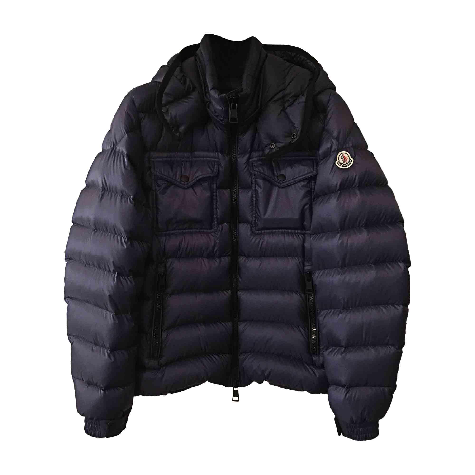 Doudoune MONCLER 50 (M) bleu vendu par Muriel 128477034 - 5862503 a97092ba8e9