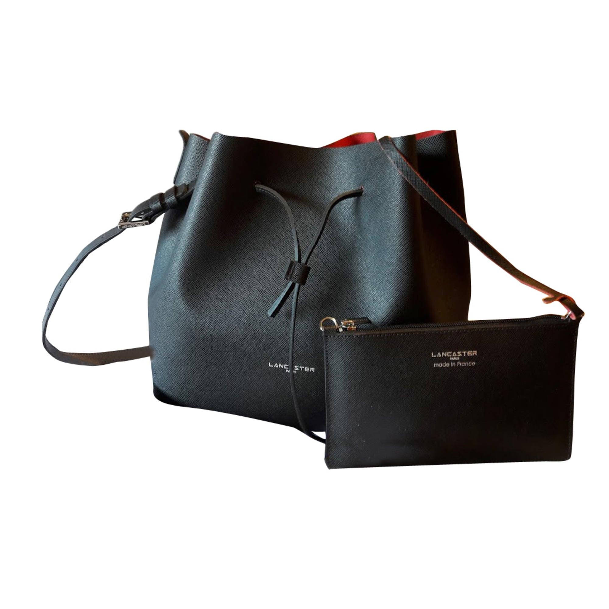0eb1aa9b28 Sac en bandoulière en cuir LANCASTER noir vendu par Cathy 3845026 ...