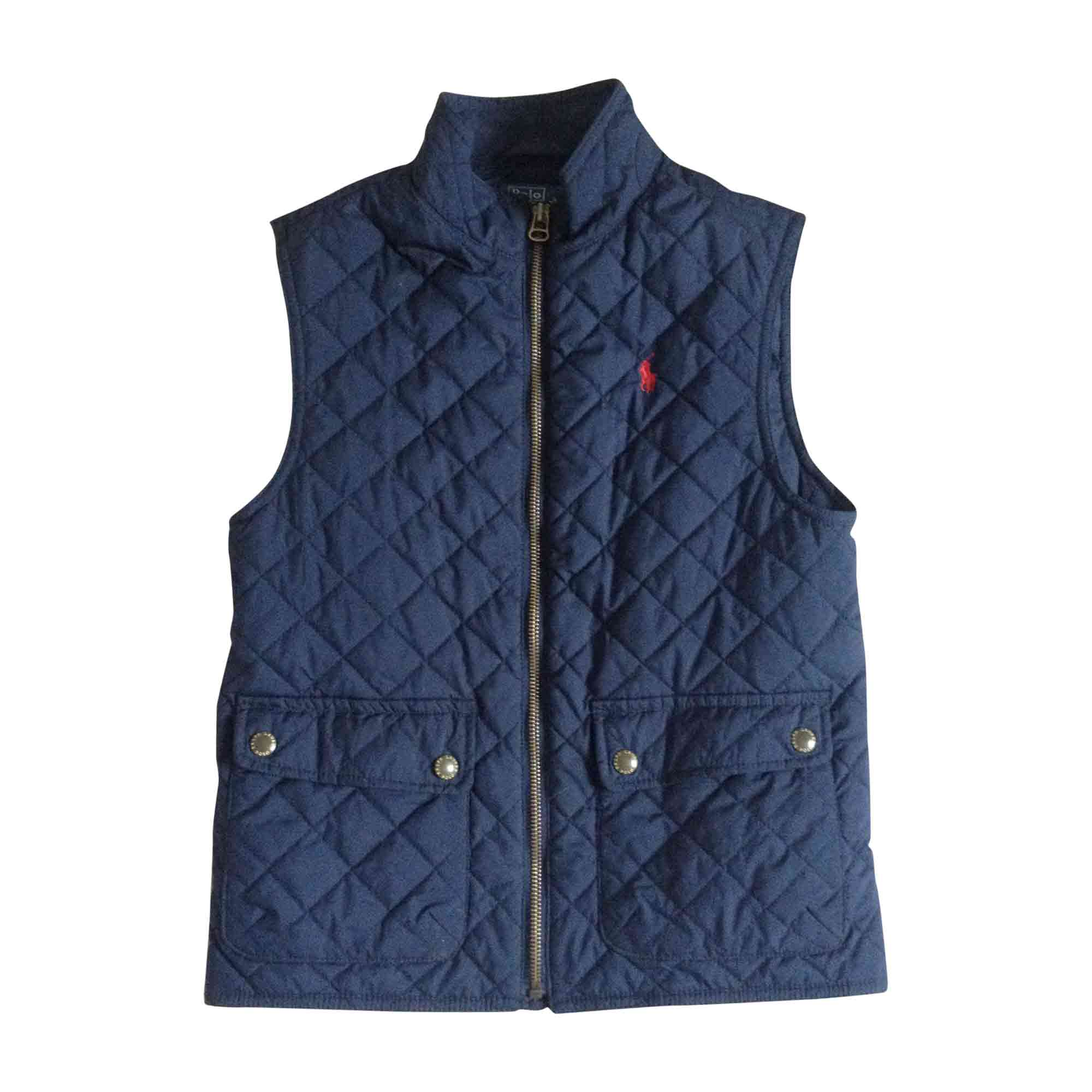 Down Jacket RALPH LAUREN Blue, navy, turquoise