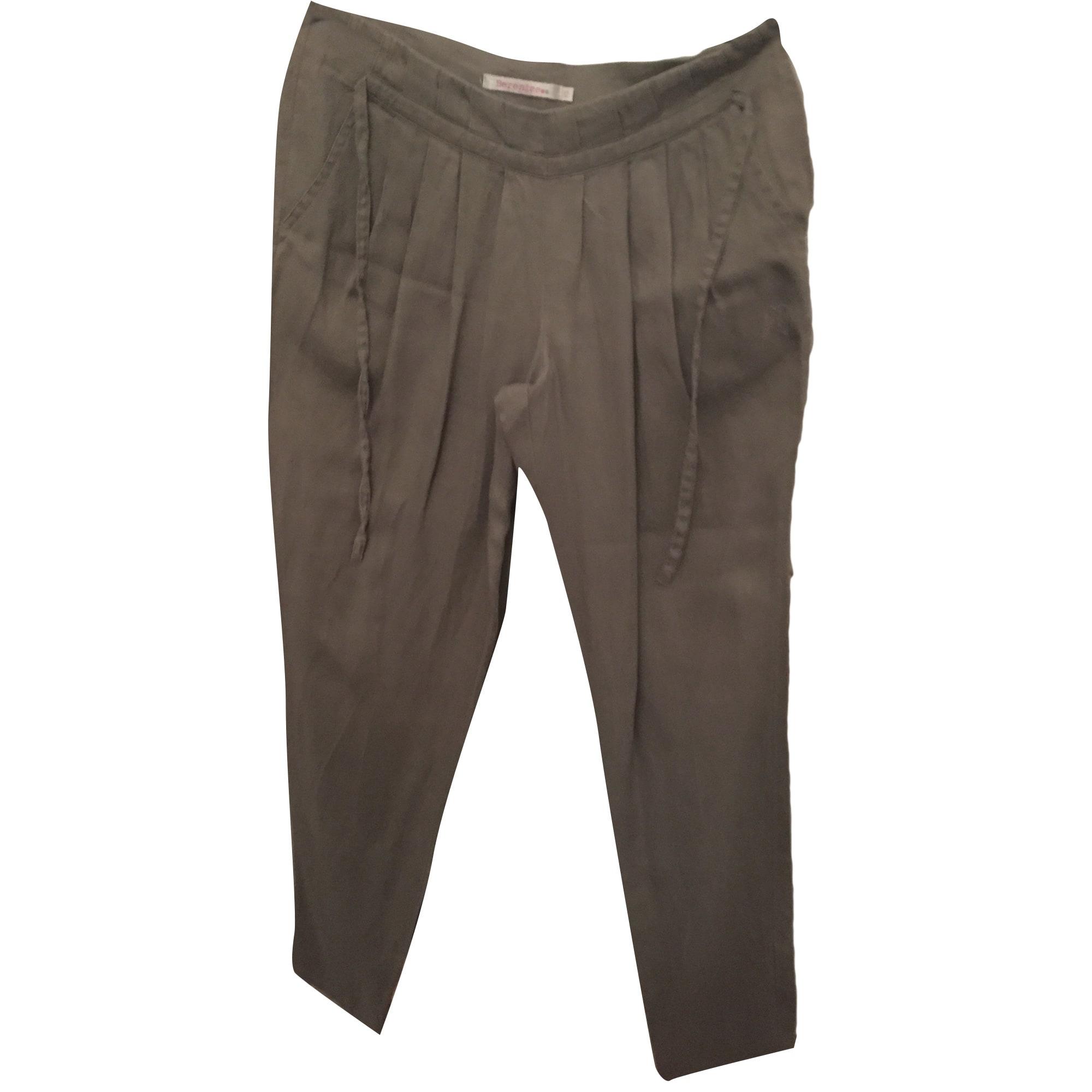 Pantalon carotte BERENICE Beige, camel