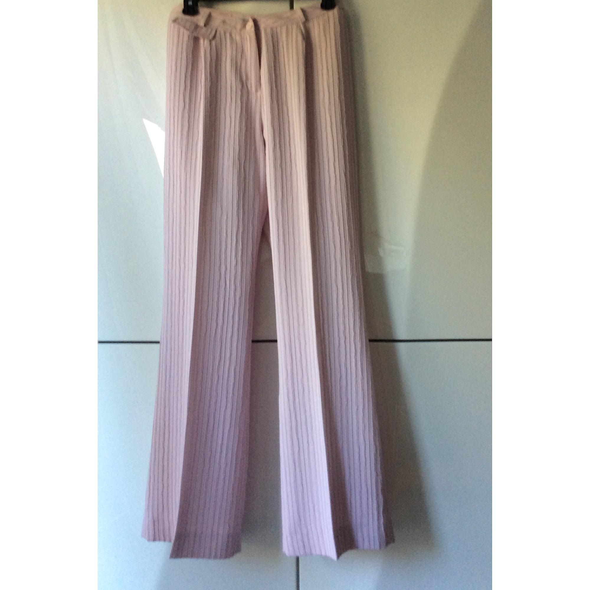Tailleur pantalon INFINITIF Rose pâle