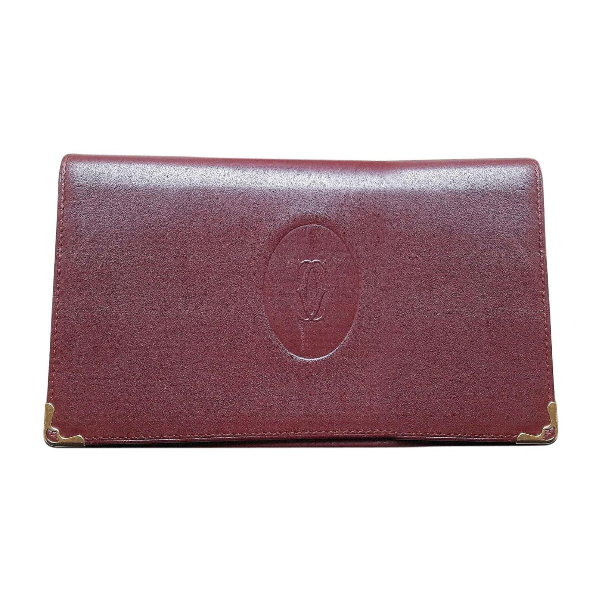 Porte-chéquier CARTIER rouge vendu par Moisettemam - 5911113 42f6880bb7b