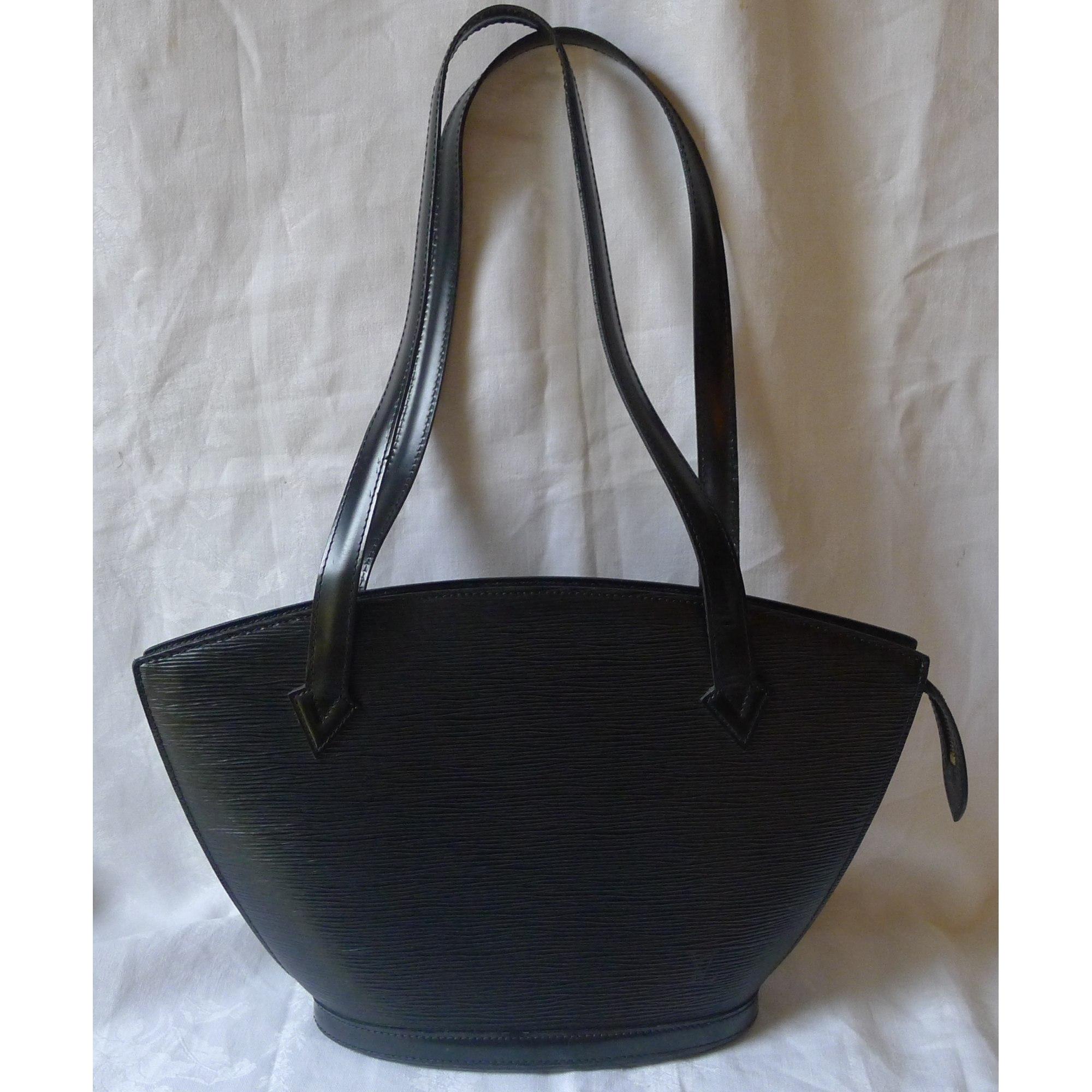 207b5501717b Sac à main en cuir LOUIS VUITTON noir vendu par Au bon vintage - 592452