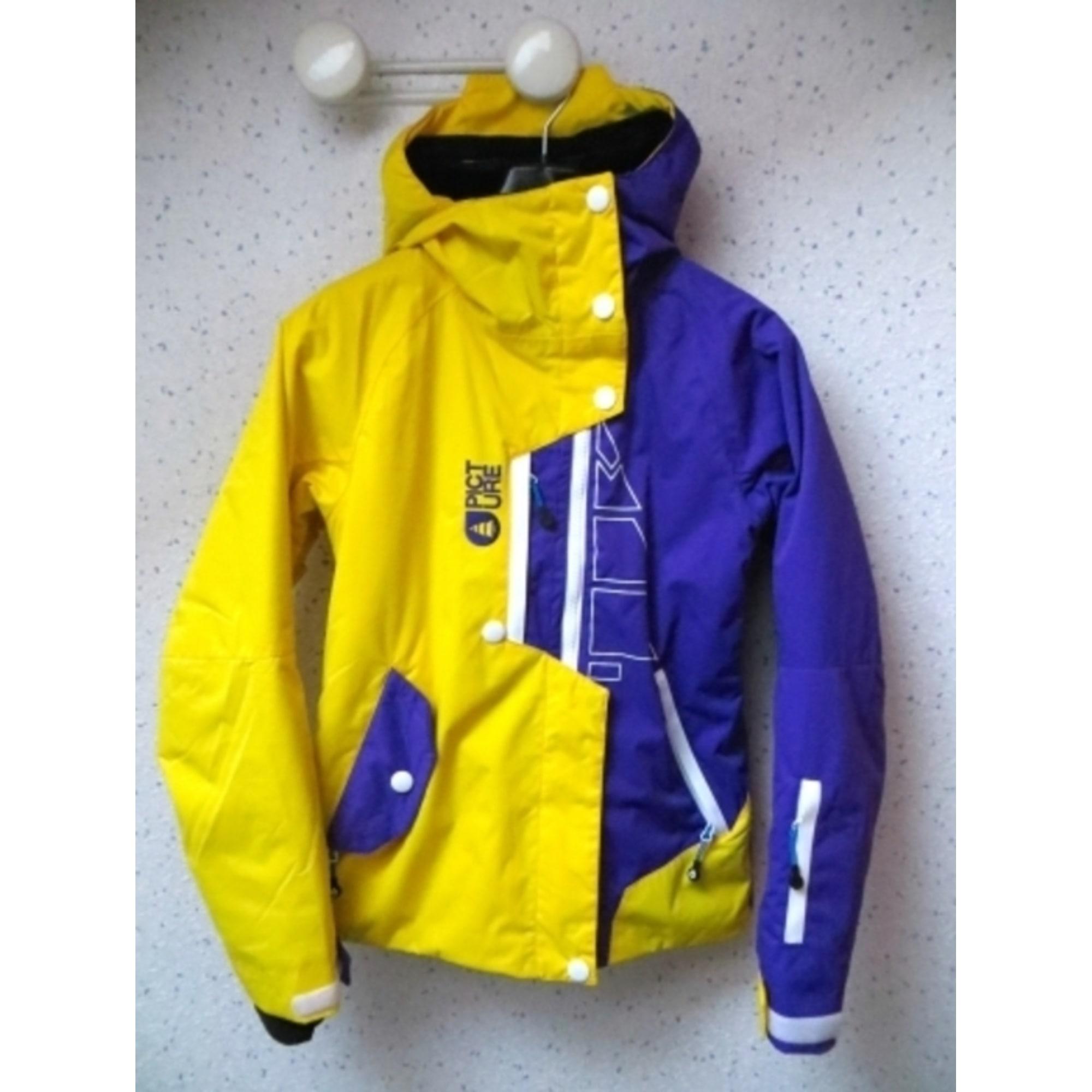 Blouson de ski PICTURE ORGANIC CLOTHING 36 (S, T1) jaune - 5930838 929444c6984