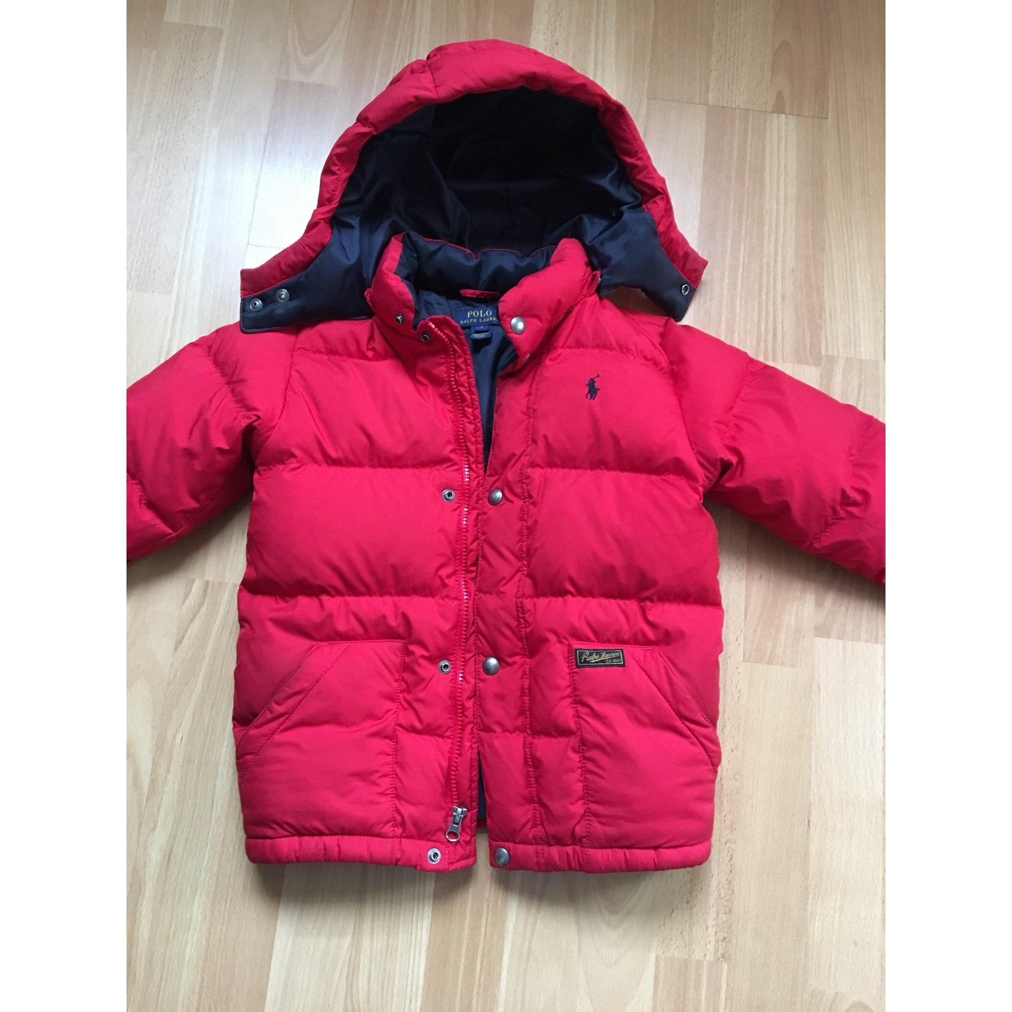 5391a6c09e8f Doudoune RALPH LAUREN 7-8 ans rouge vendu par Florence 2401 - 5932899