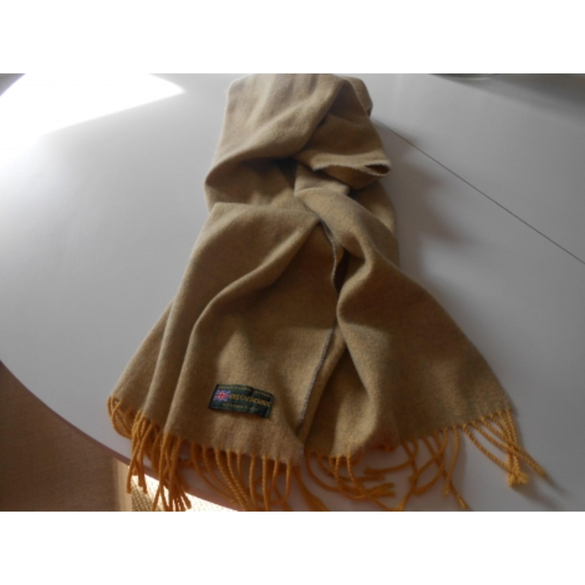 65bfa29ef807 Echarpe 100% CACHEMIRE jaune - 5937126