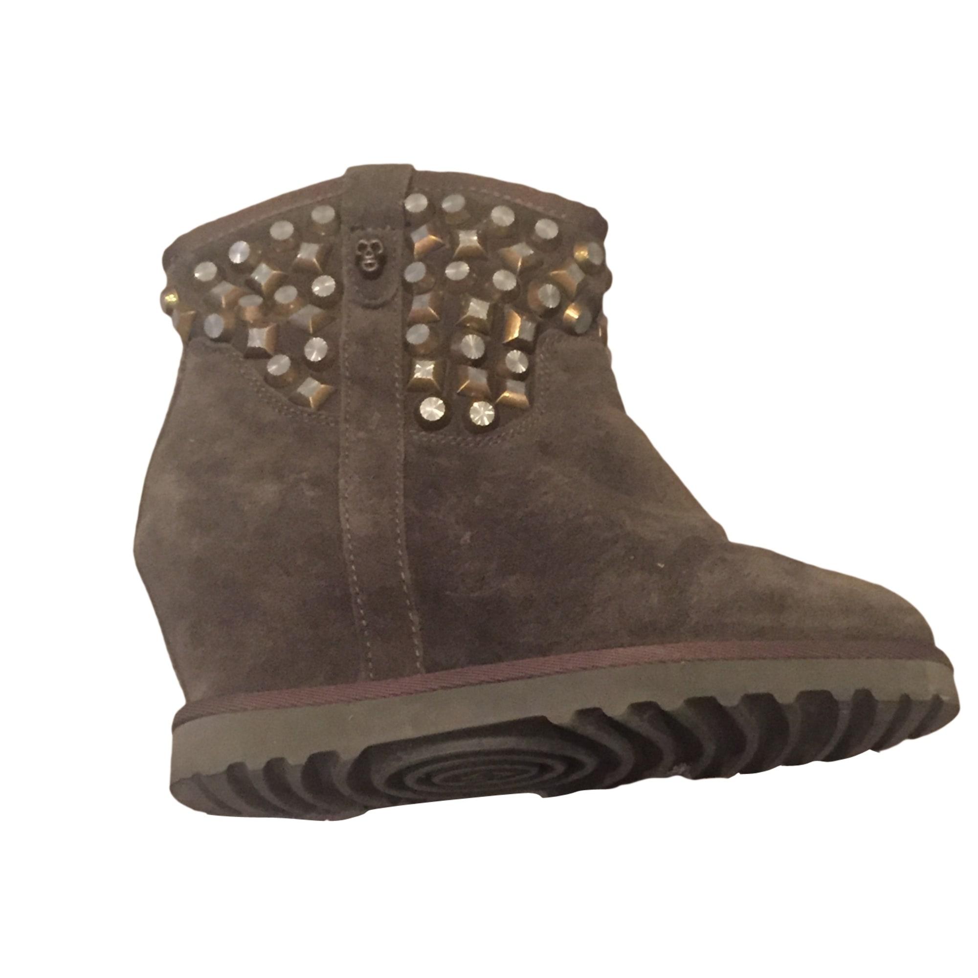 1169dfa460ccce Bottines & low boots à compensés ASH 38 kaki vendu par ...