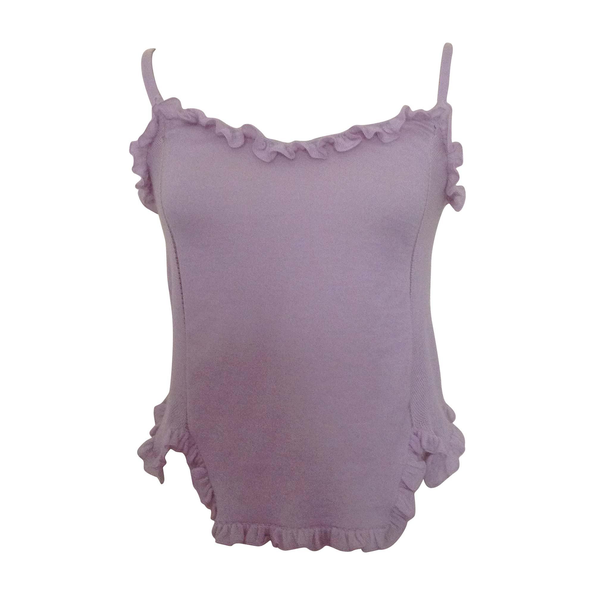 Top, T-shirt GUCCI Purple, mauve, lavender