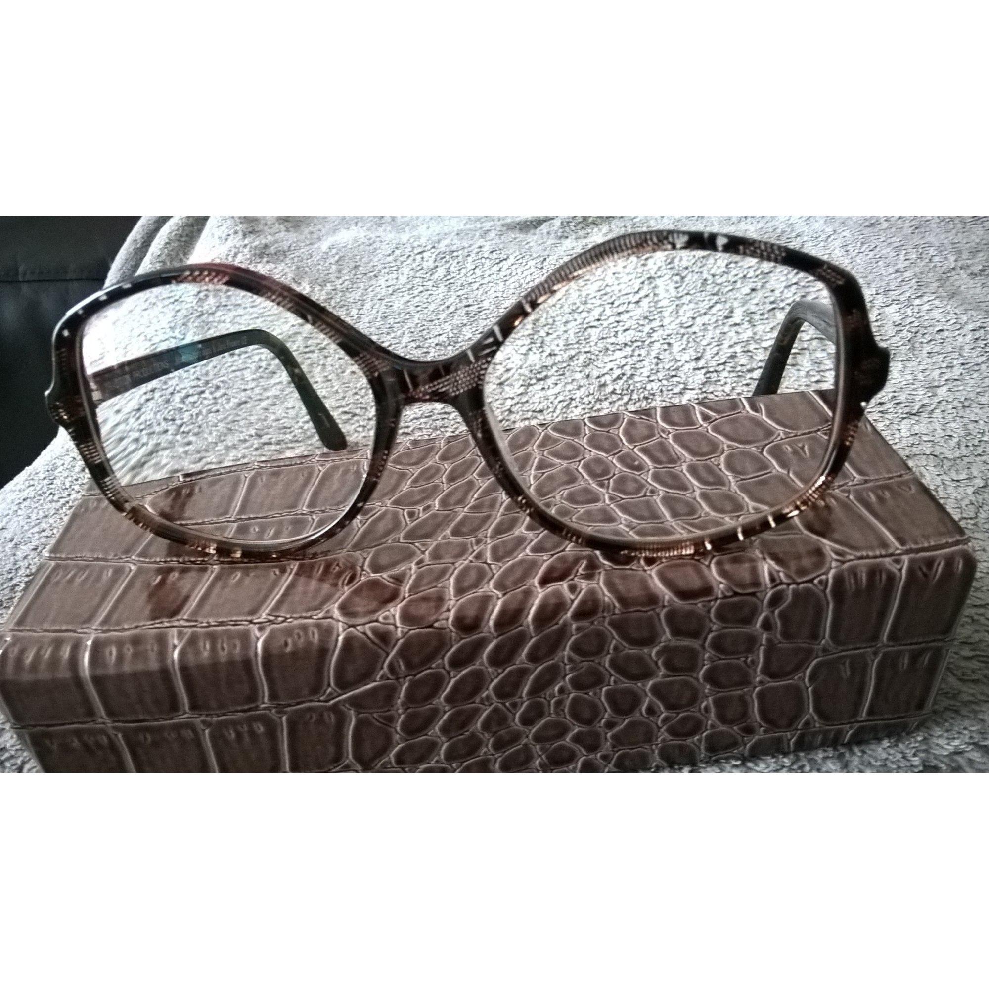 Monture de lunettes TRACTION PRODUCTIONS marron vendu par Vida  moi ... 50b6ec491145