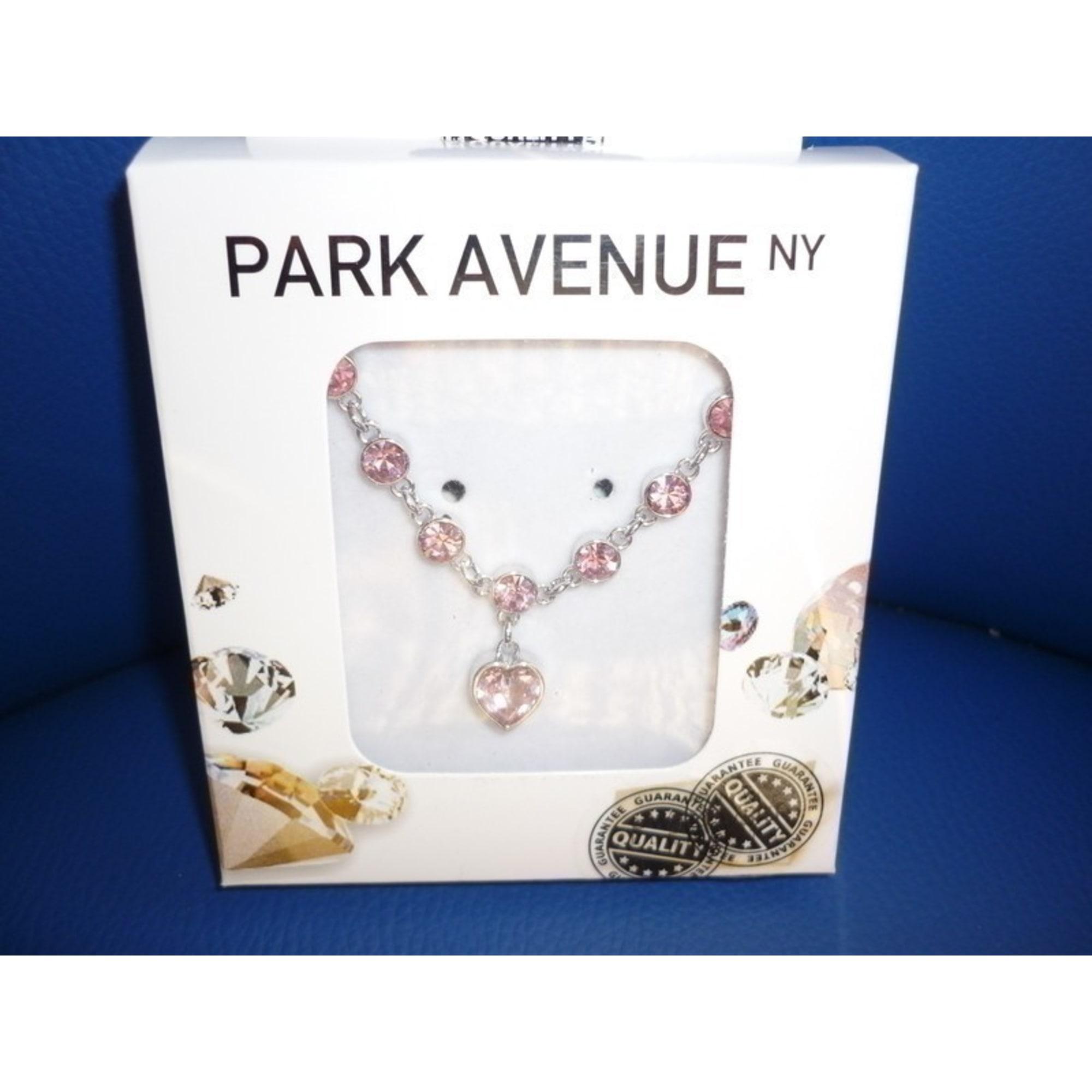 Bracelet PARK AVENUE rhodium rose