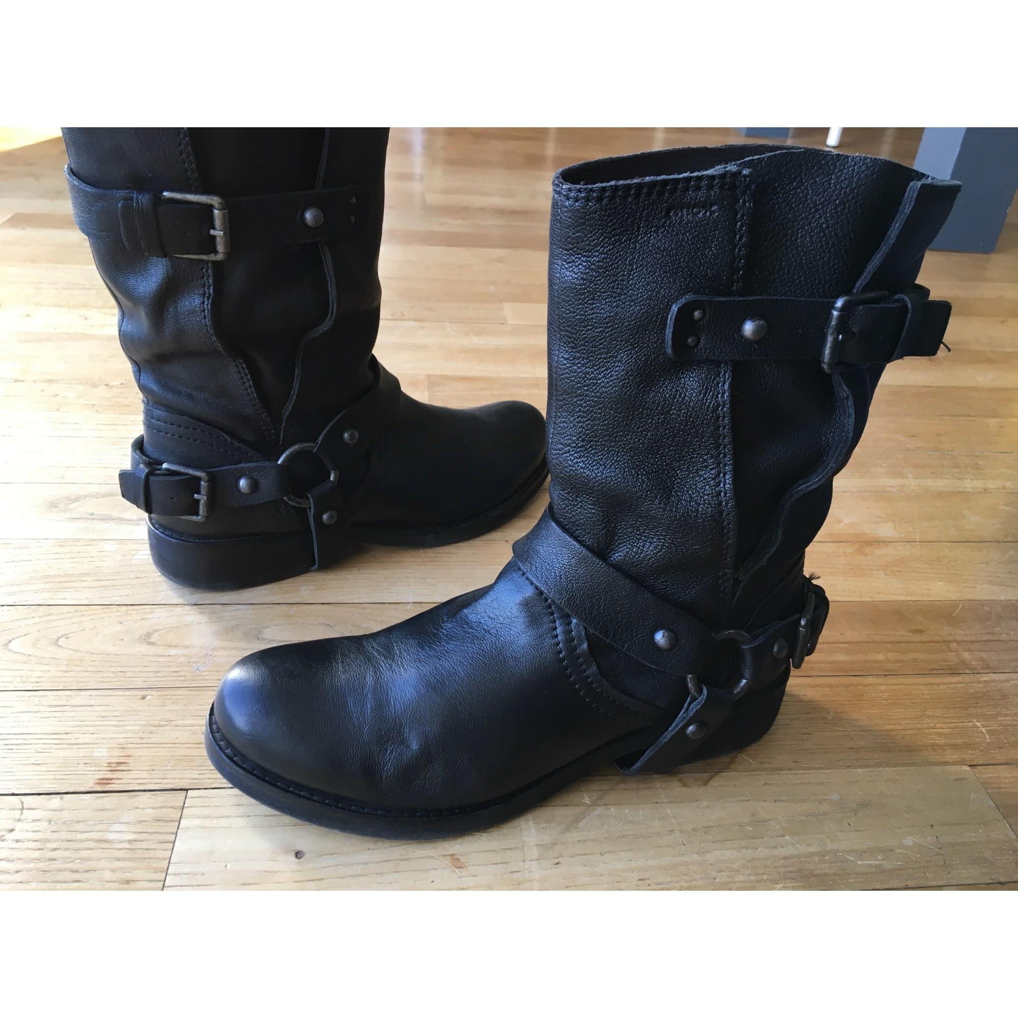 Bottines & low boots motards