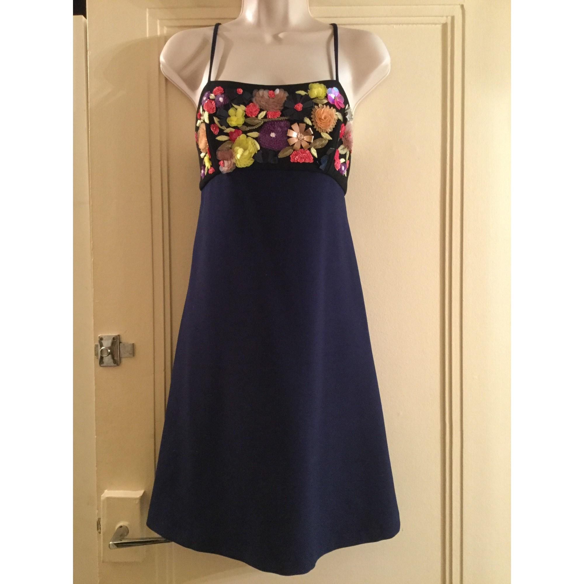 368a64548b Robe courte CLOVER CANYON Bleu