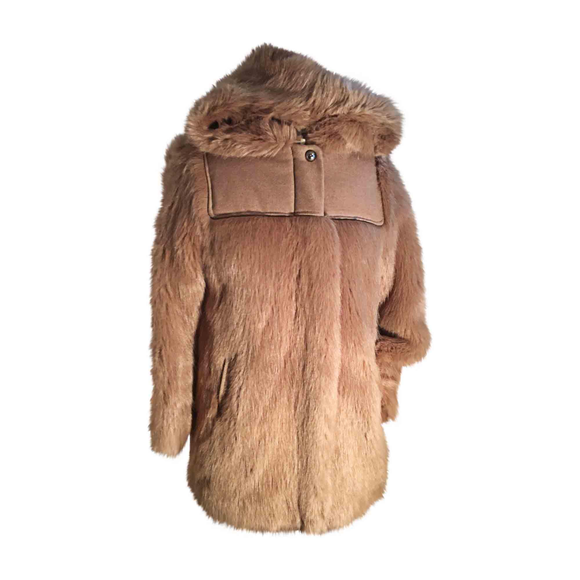 Manteau camel taille 34