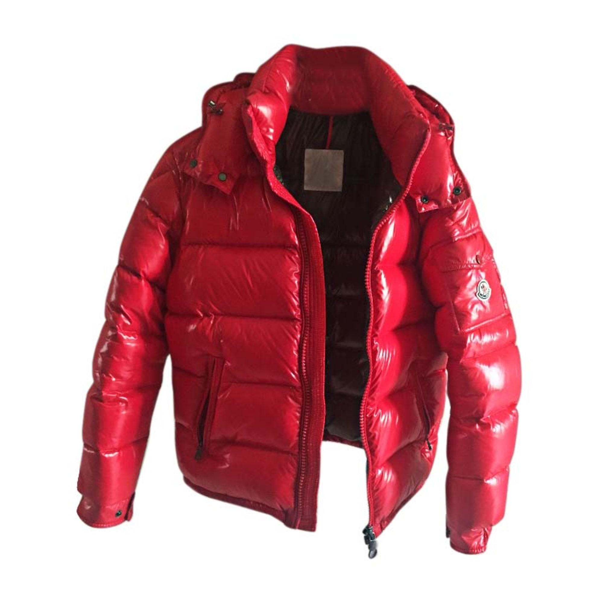b7b63381732 Doudoune MONCLER Autre rouge vendu par Julien 1612 - 6015403