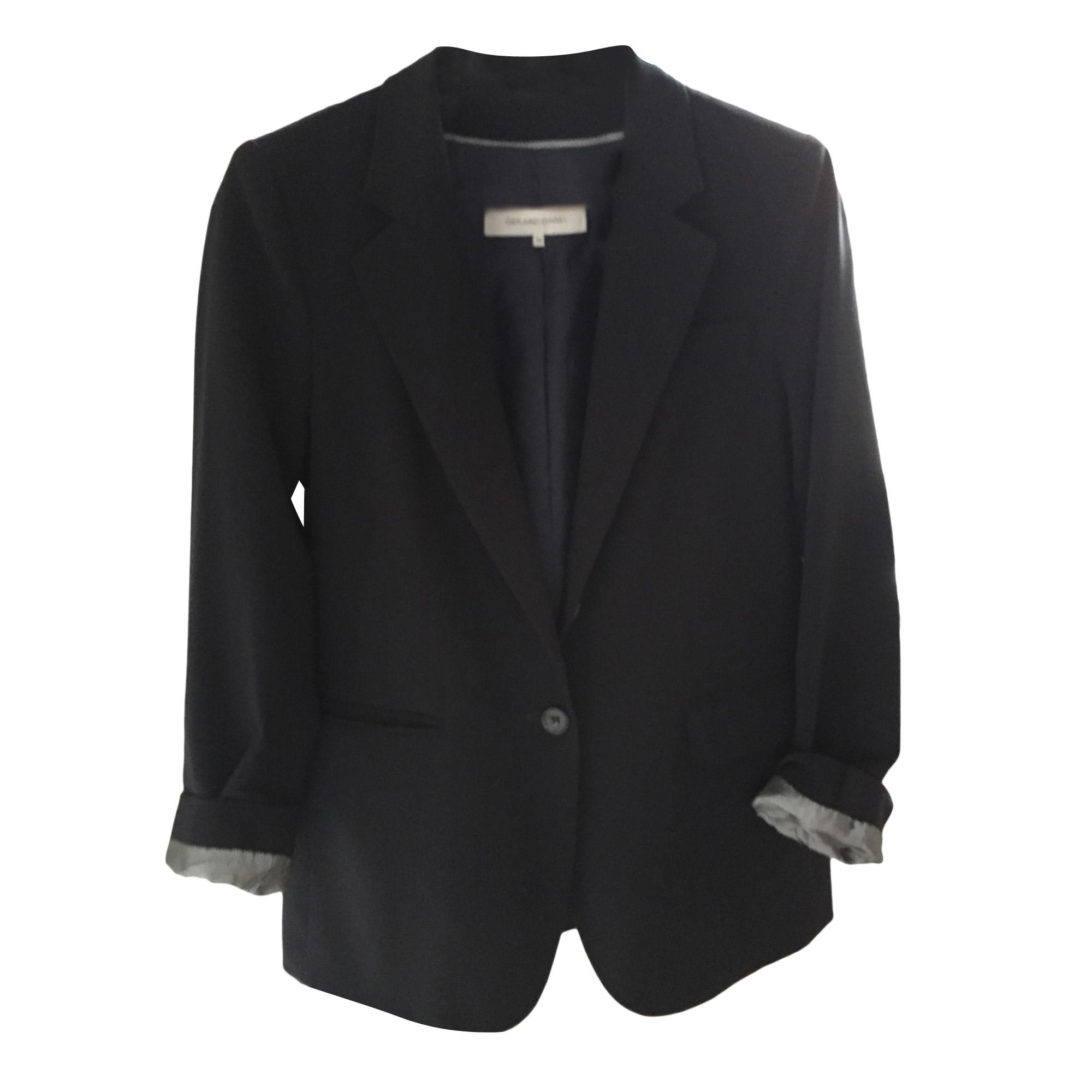 Blazer, veste tailleur GERARD DAREL 38 (M, T2) noir vendu par ... d8677f488f93