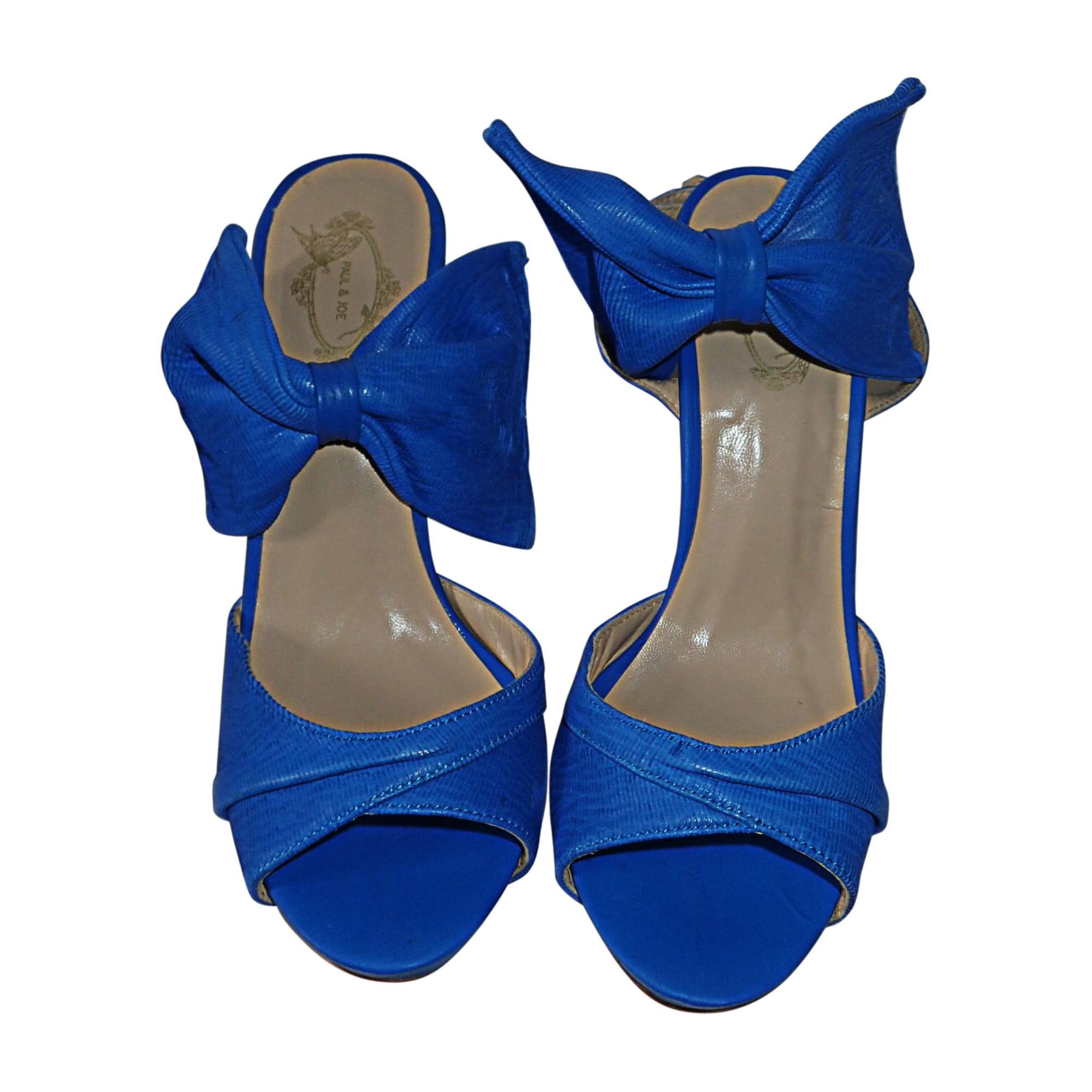 Escarpins PAUL & JOE Bleu, bleu marine, bleu turquoise