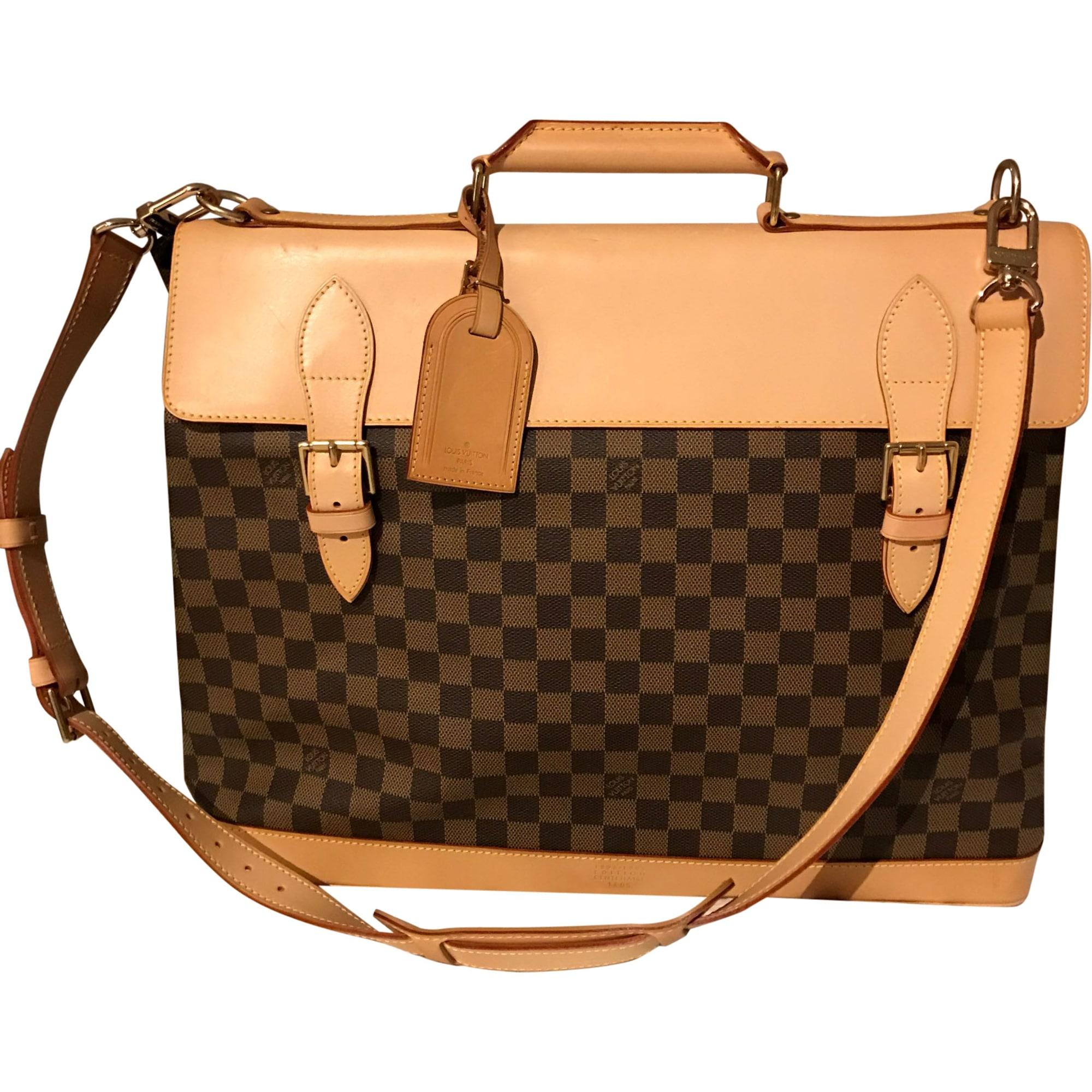 Sac XL en cuir LOUIS VUITTON marron vendu par L armoire de ... a6c2c0fd6a4