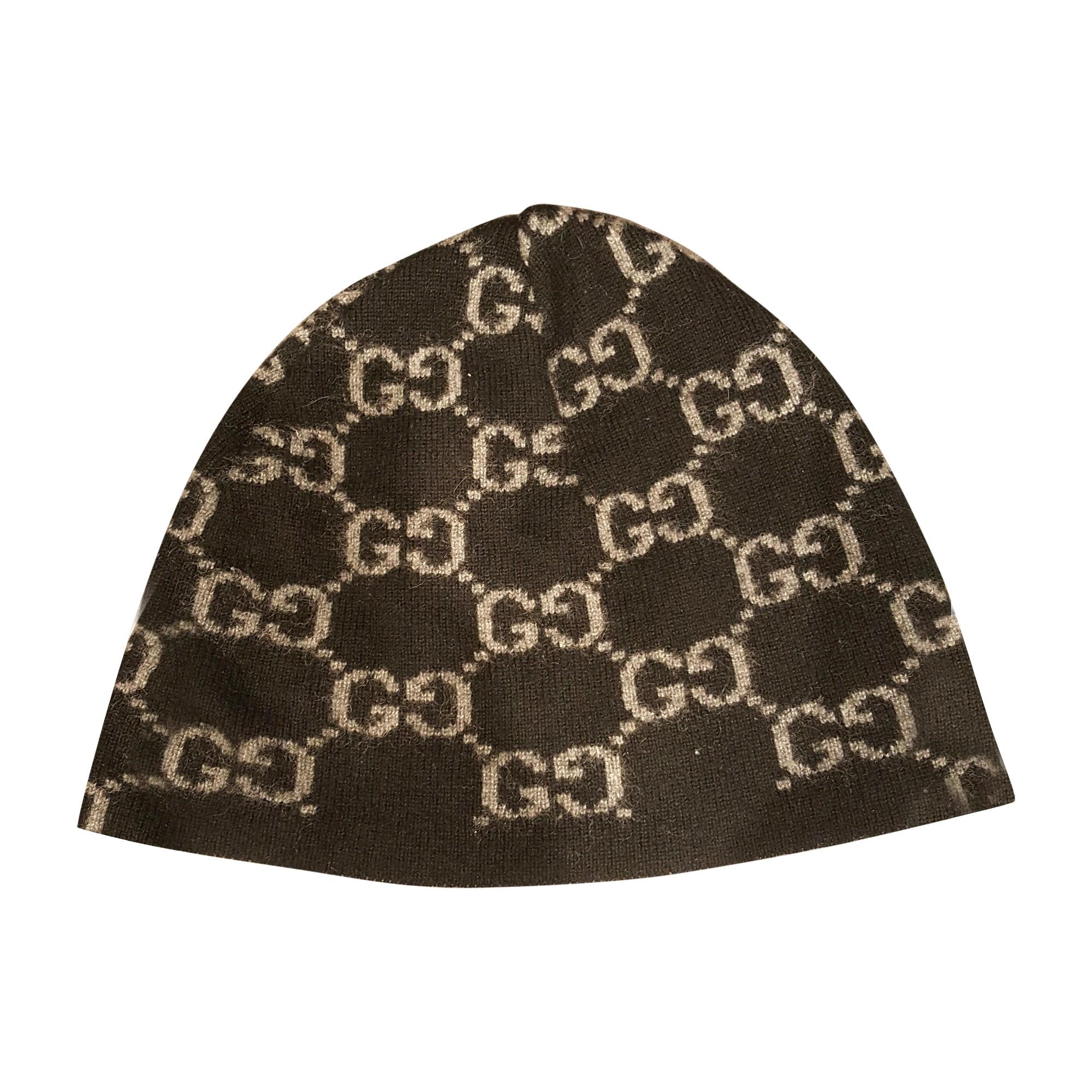Bonnet GUCCI Taille unique noir vendu par Max 1856 - 6037950 86a50a8da72