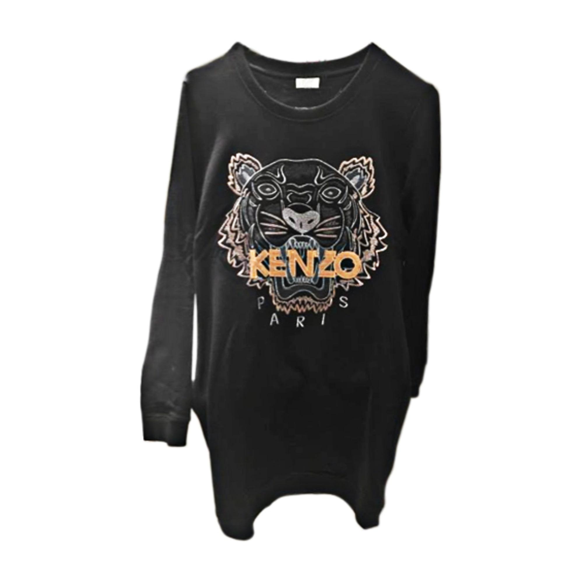 Robe pull KENZO 36 (S, T1) noir dorée vendu par Rim 305 - 6038130 cad805d9fc7