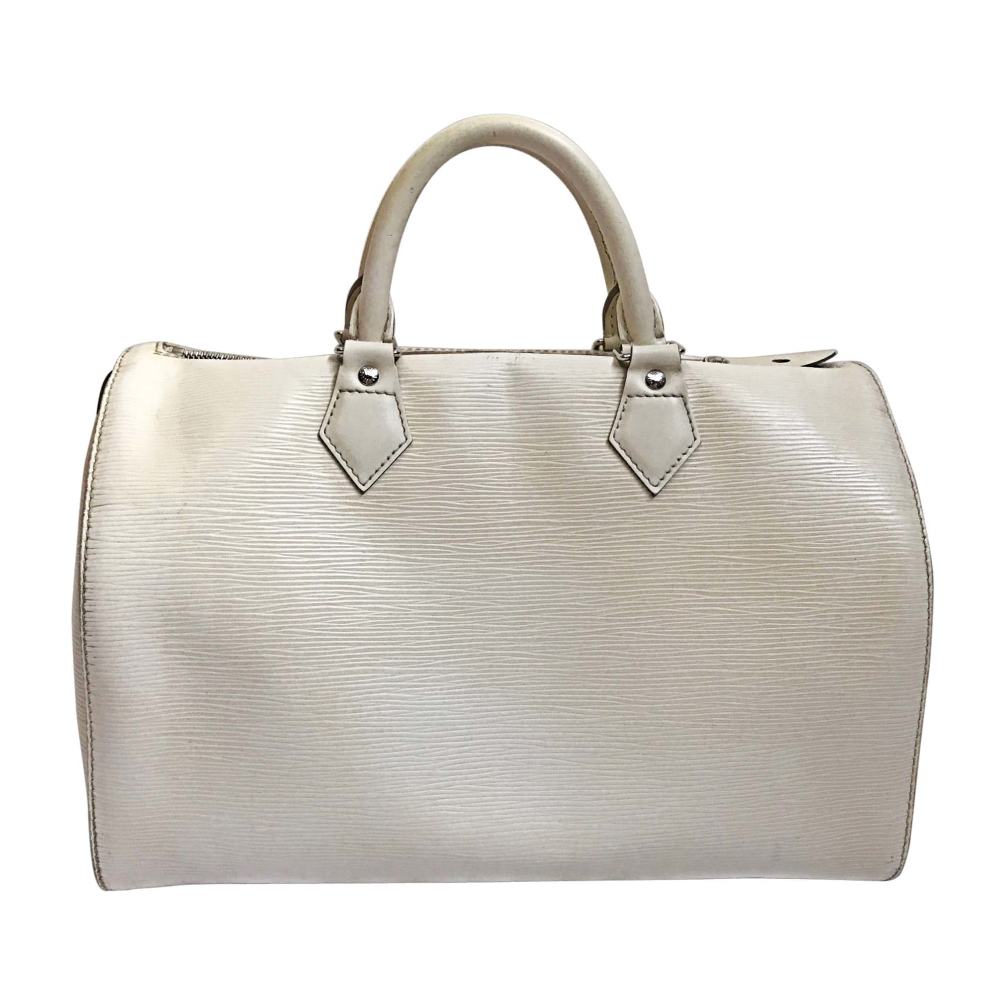 cd8a919e48 Sac Louis Vuitton Speedy 35 Blanc | Stanford Center for Opportunity ...