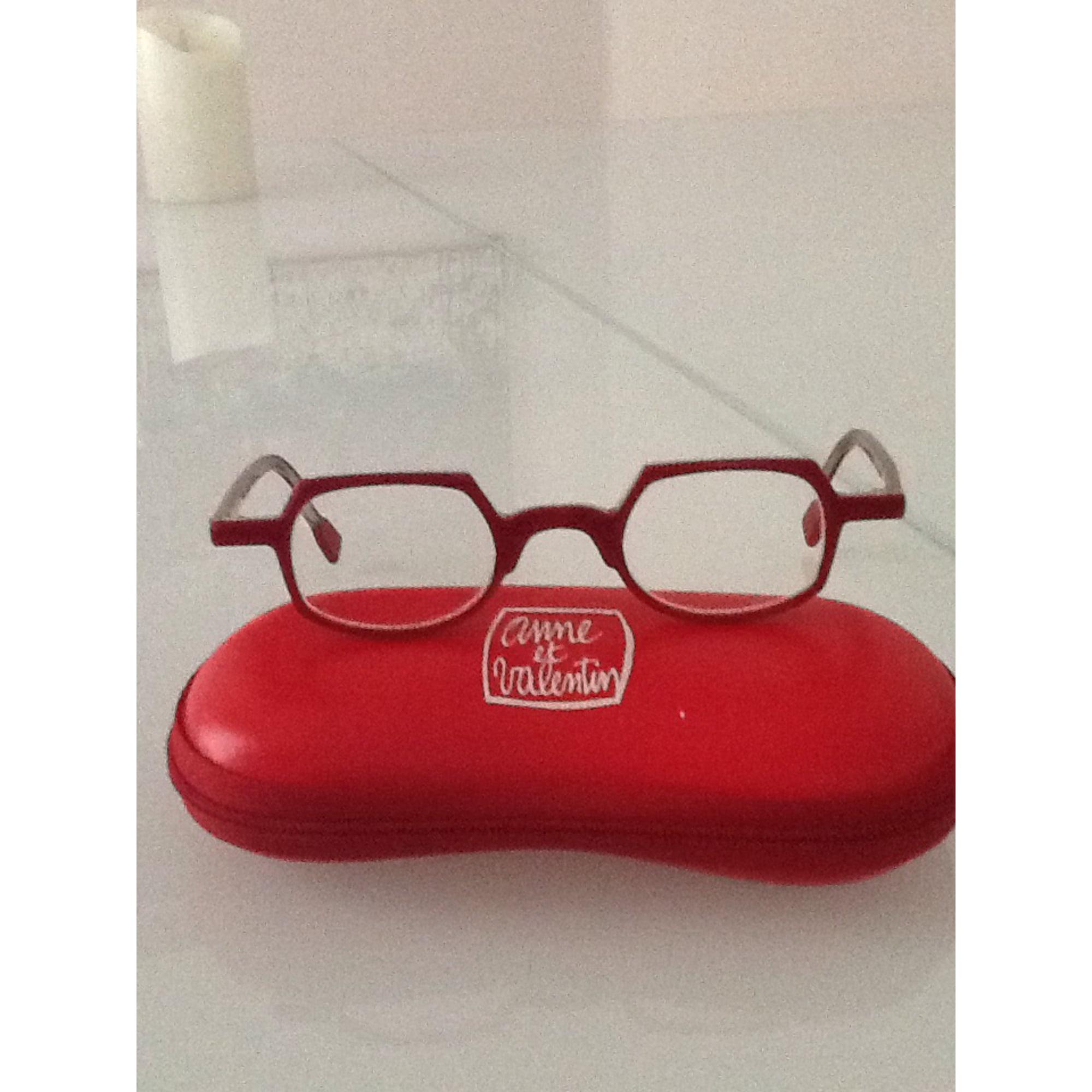 b20ce15da3 Monture de lunettes ANNE & VALENTIN rouge vendu par Victoria30 - 6051739